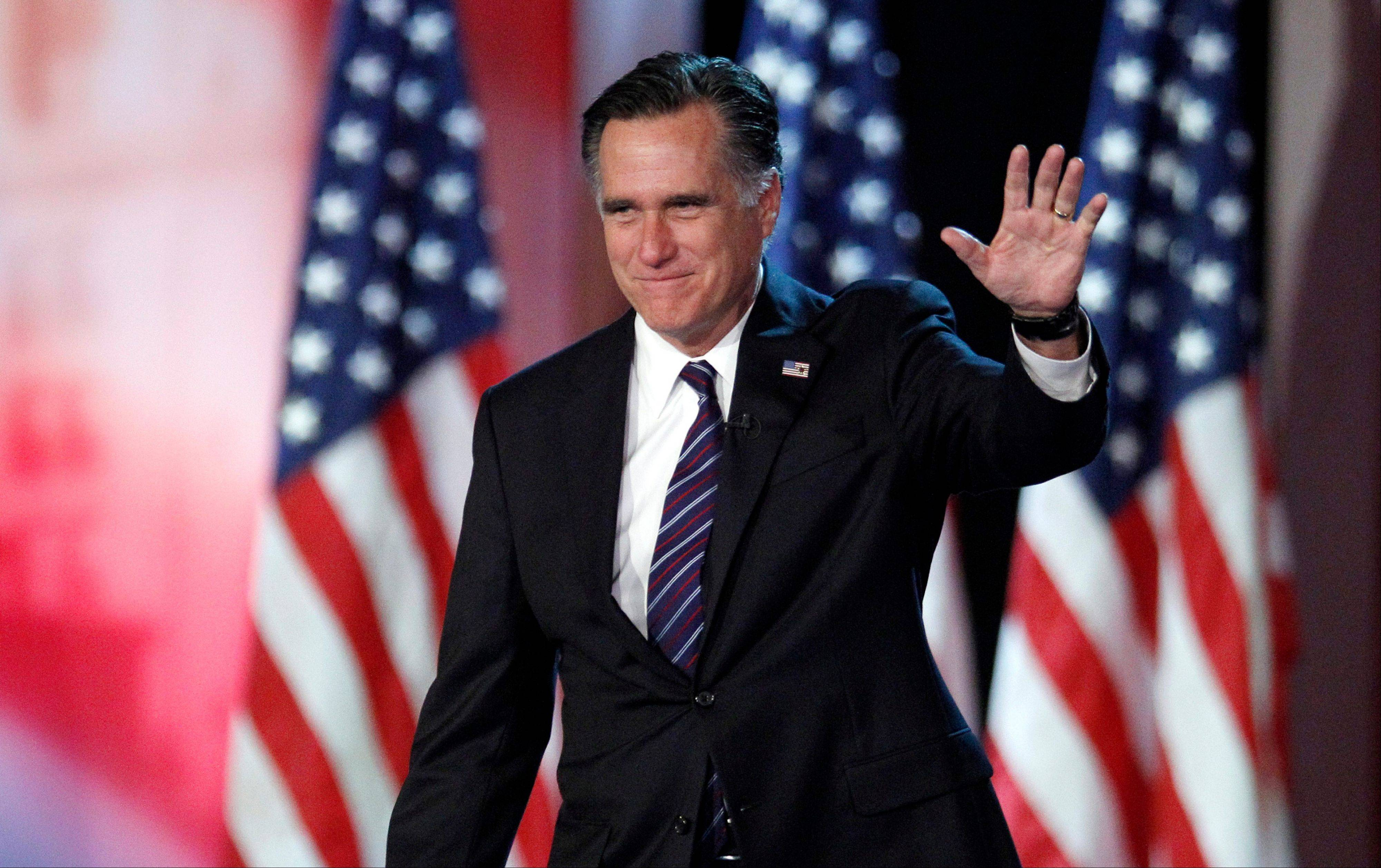 Former Republican presidential candidate Mitt Romney admits he was fully convinced he was going to win when he sat down to watch returns the night of November's election.