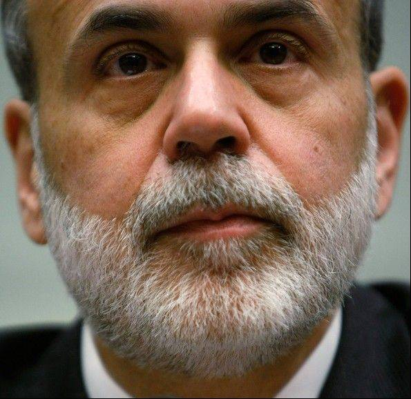 "Federal Reserve Chairman Ben S. Bernanke told the Senate Banking Committee on Feb. 26 that ""this additional near- term burden on the recovery is significant."""