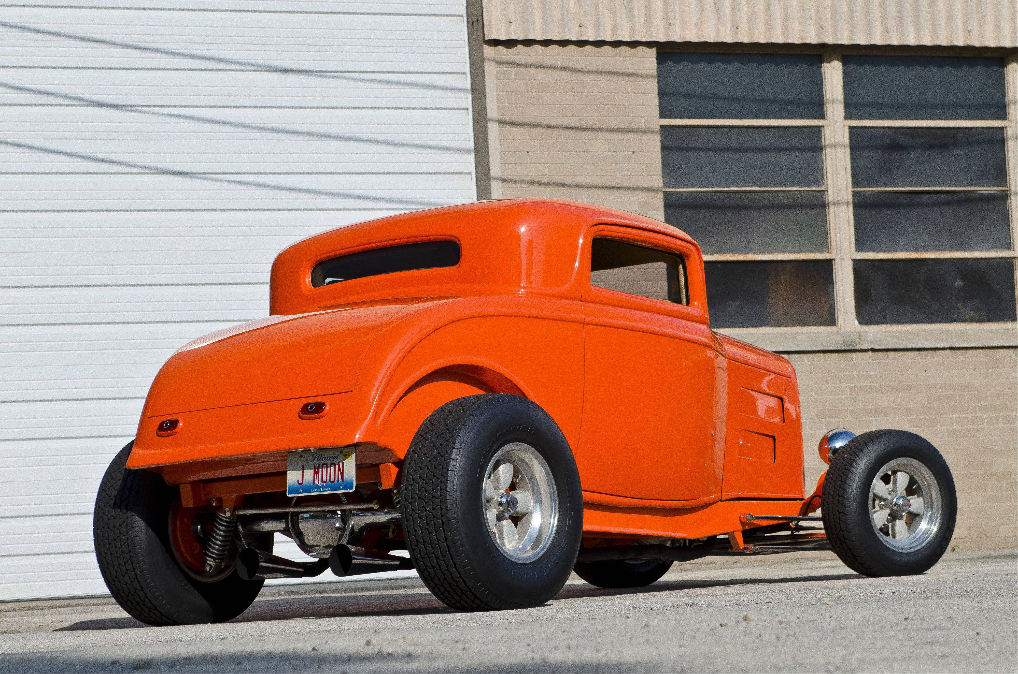 The 1932 Ford made its maiden voyage was to the 1985 Street Rod Nationals show in Minnesota.