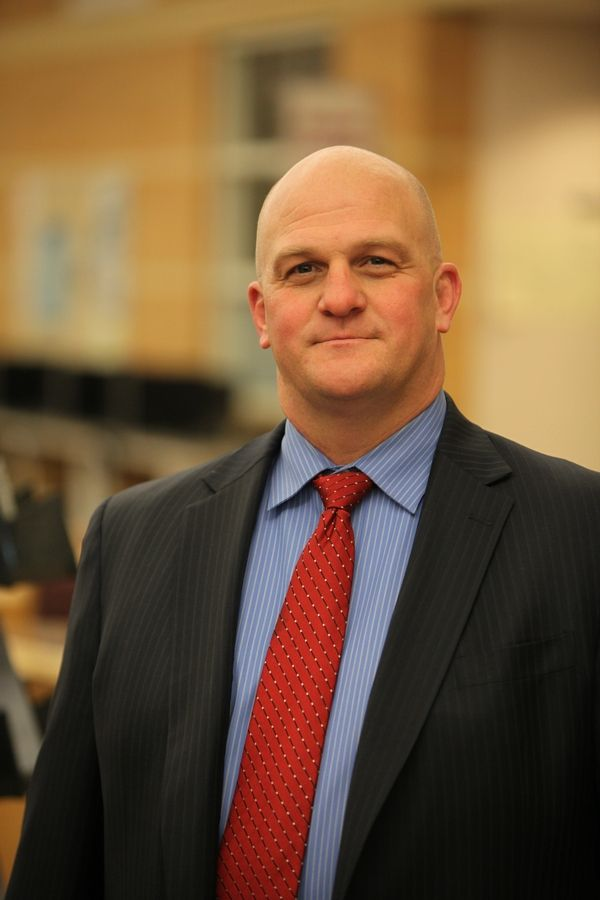 Charles Hiscock was hired as the new principal of West Aurora High School March 4.