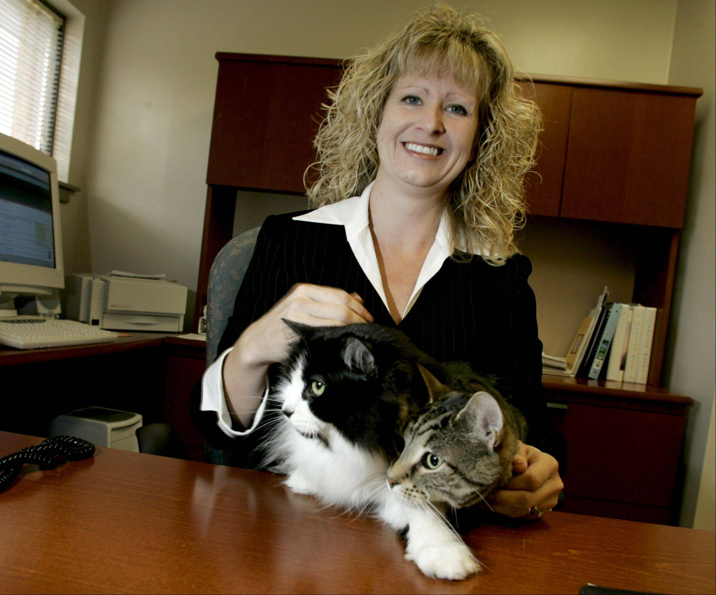 A federal lawsuit alleges DuPage County discriminated against Kerry Vinkler when it fired her from her former job as the director of Dupage Animal Care and Control.