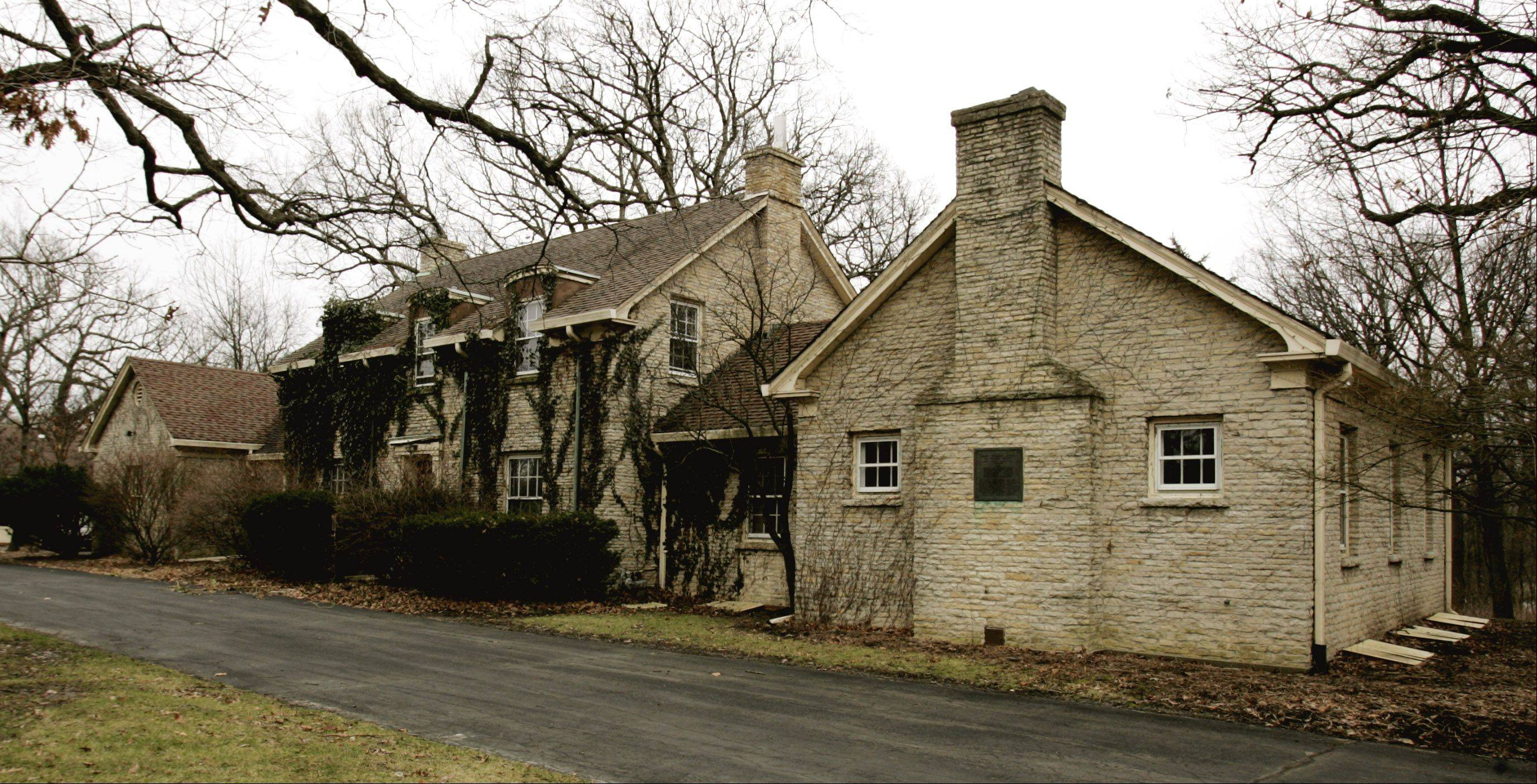 McKee House: The two-story limestone house and a neighboring administration building were constructed in 1936 by the Works Progress Administration and the Civilian Conservation Corps. Both structures were spared from the wrecking ball in 2006 but are in disrepair.