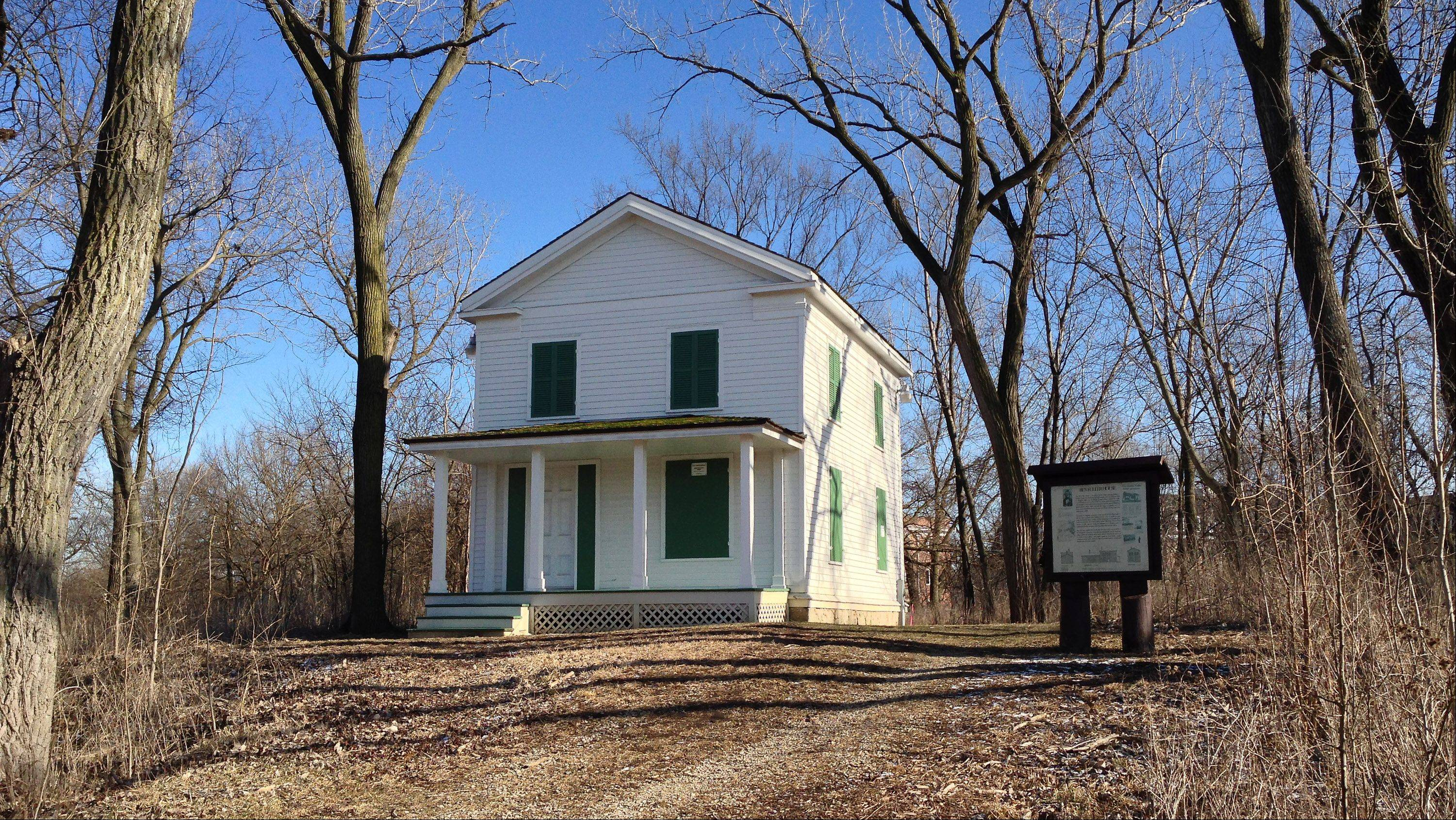 Ben Fuller House: Built sometime between 1835 and 1842, the Greek Revival-style farmhouse was moved to land owned by the forest preserve district in 1981.