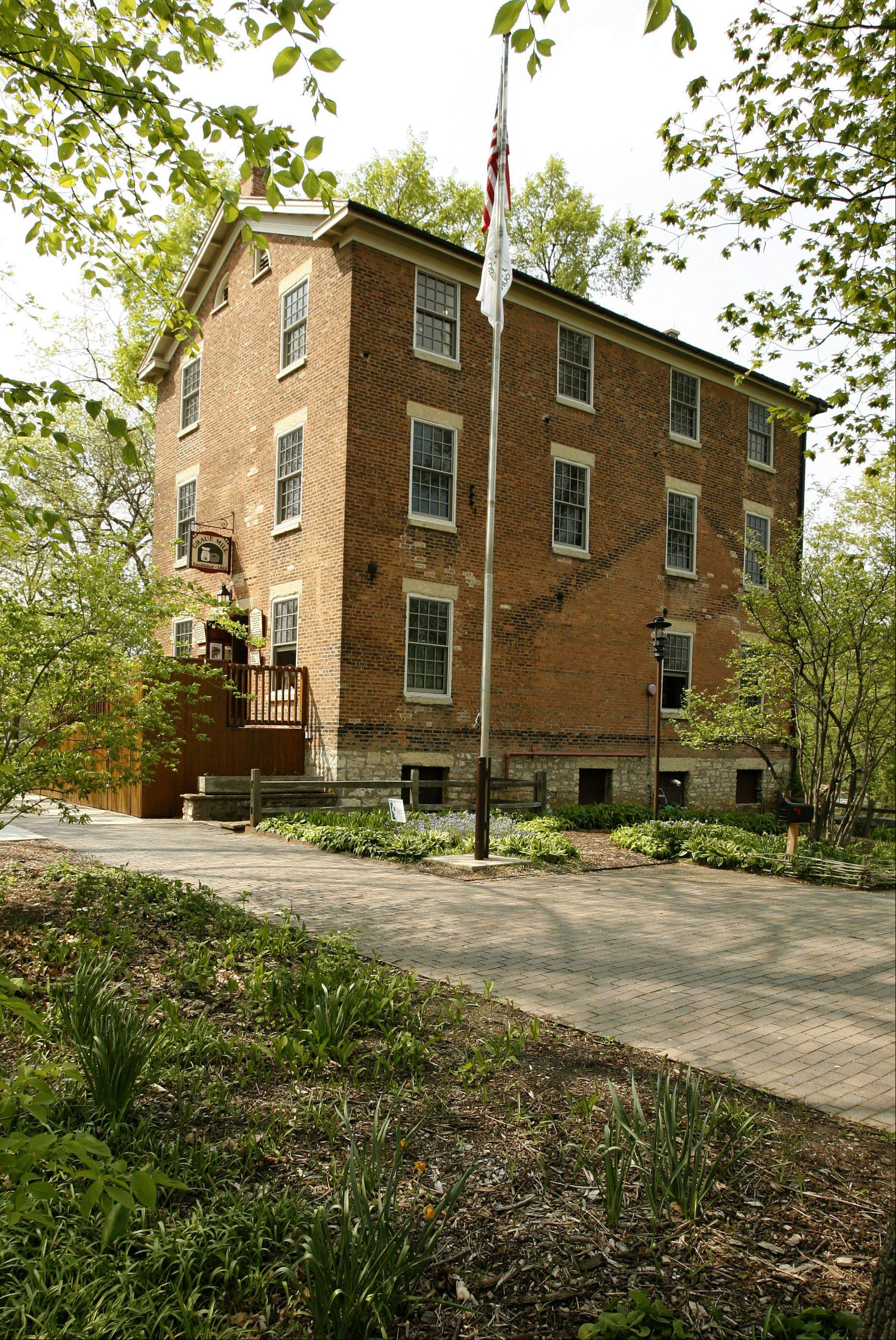 Graue Mill: Completed in 1852, the water-wheel powered grist mill was built by German immigrant Frederick Graue. The forest preserve district took over the property in 1931. In 1950, the DuPage Graue Mill Corp. began leasing the mill from the forest preserve to renovate it as a museum.