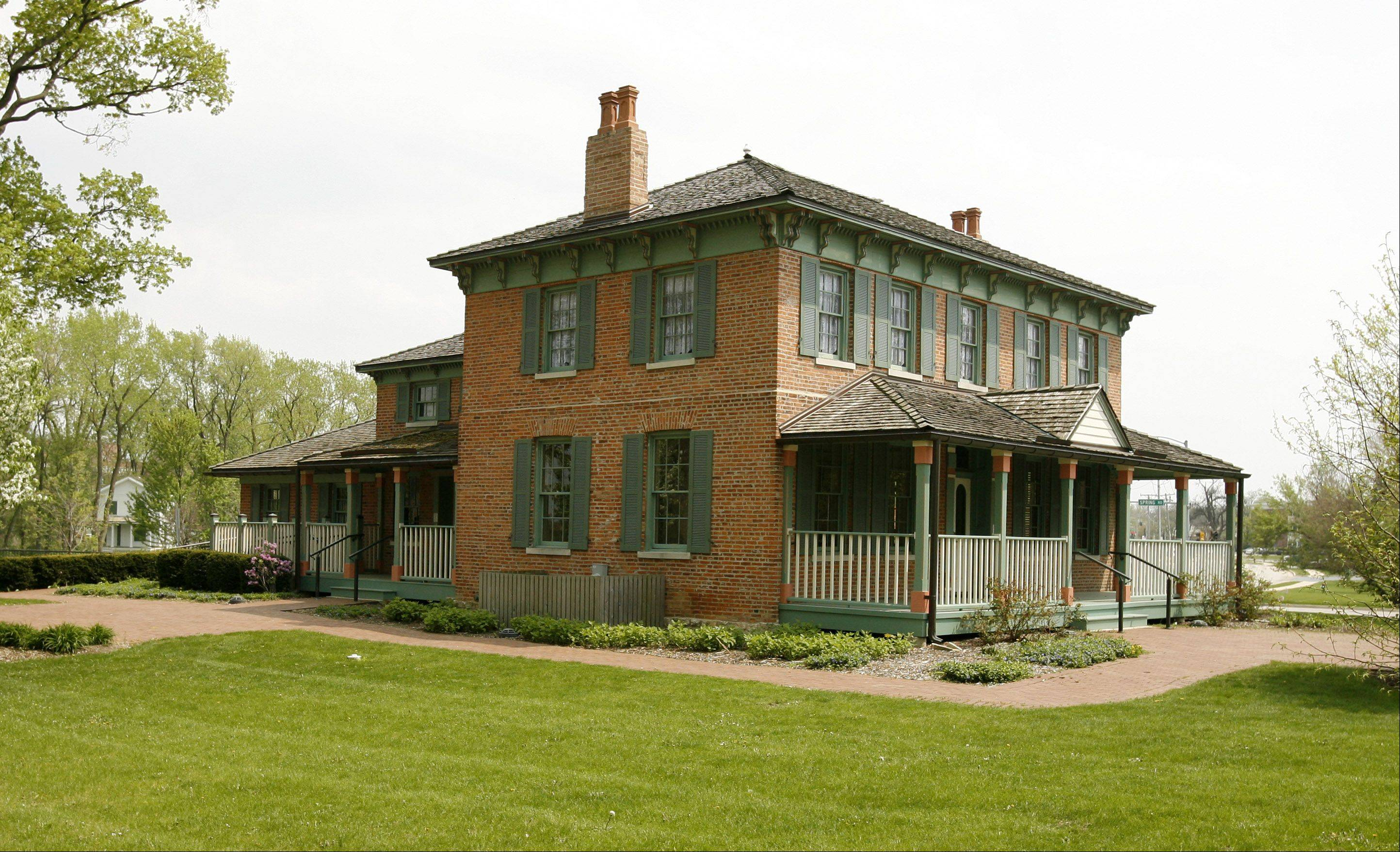 Graue House: Frederick Graue's former home was completed in 1859. The forest preserve bought the two-story brick house in 1989 after a condemnation battle with the former owner.