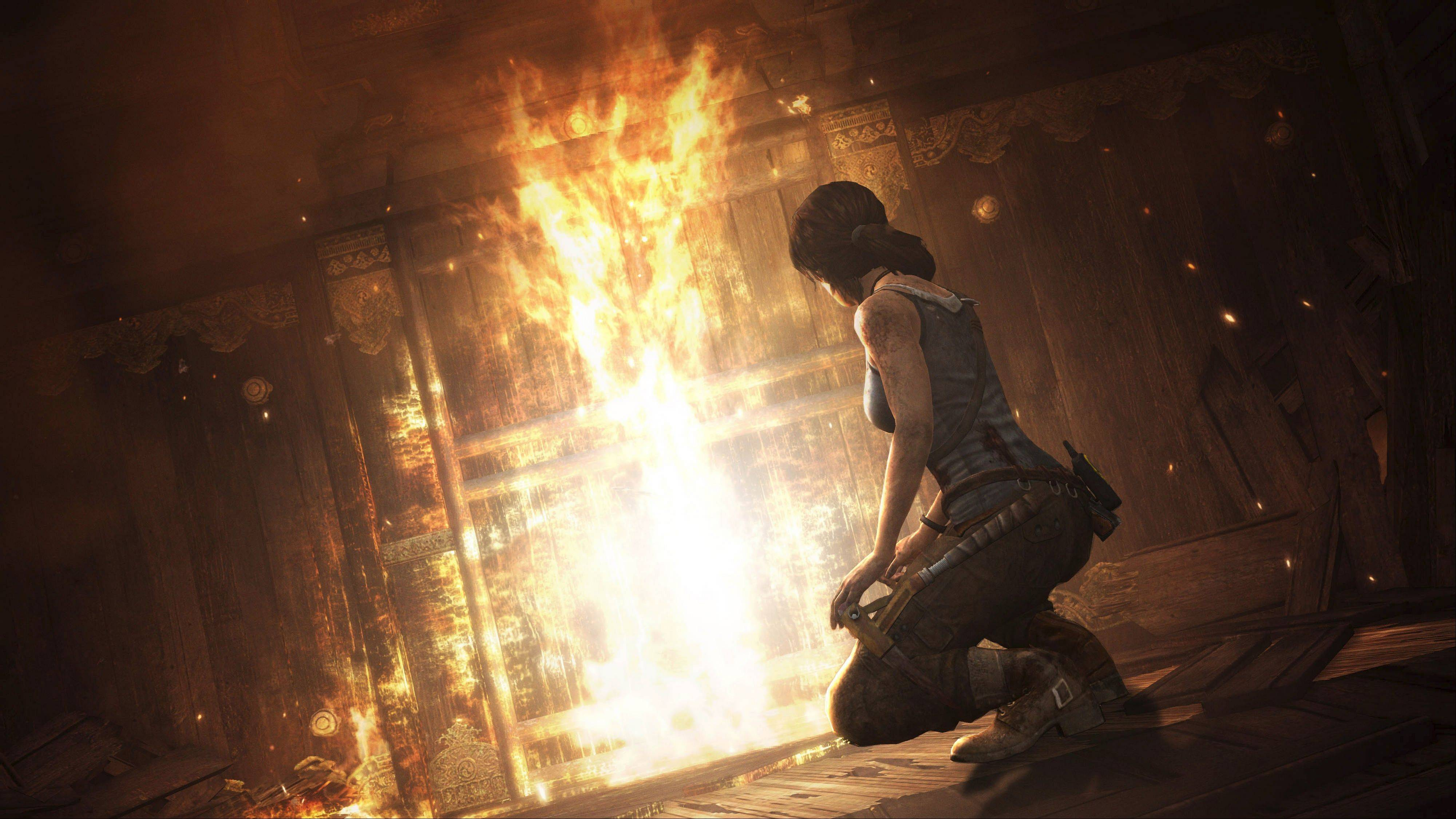 """Tomb Raider"" finds an inexperienced young Lara Croft shipwrecked and separated from her crew on a mysterious island in Japan's brutal Devil's Triangle."