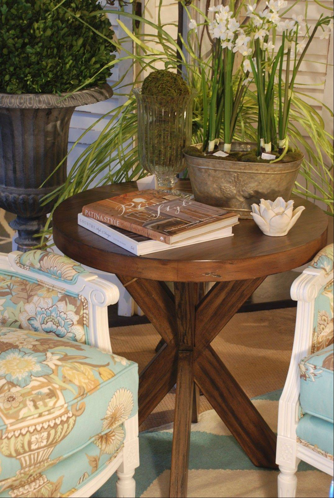 Made of hardwood and featuring nice details, this great-looking side table looks like it should cost a lot more than $338.
