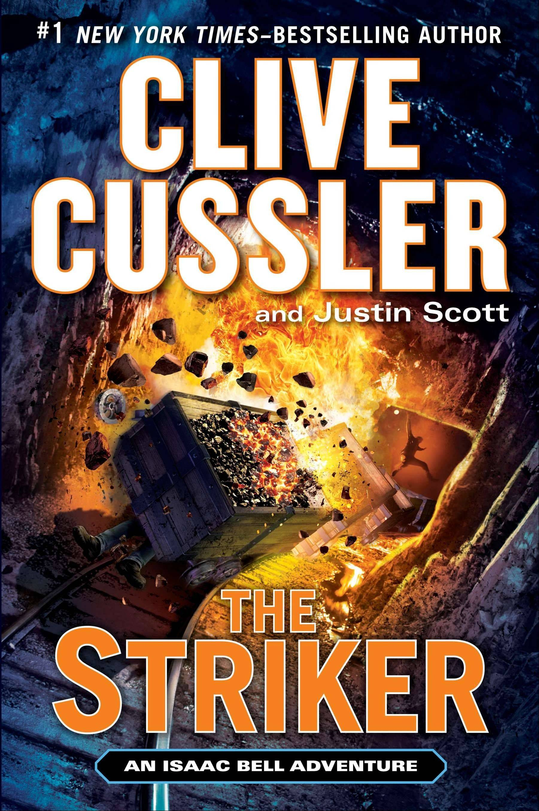 """The Striker"" by Clive Cussler and Justin Scott"