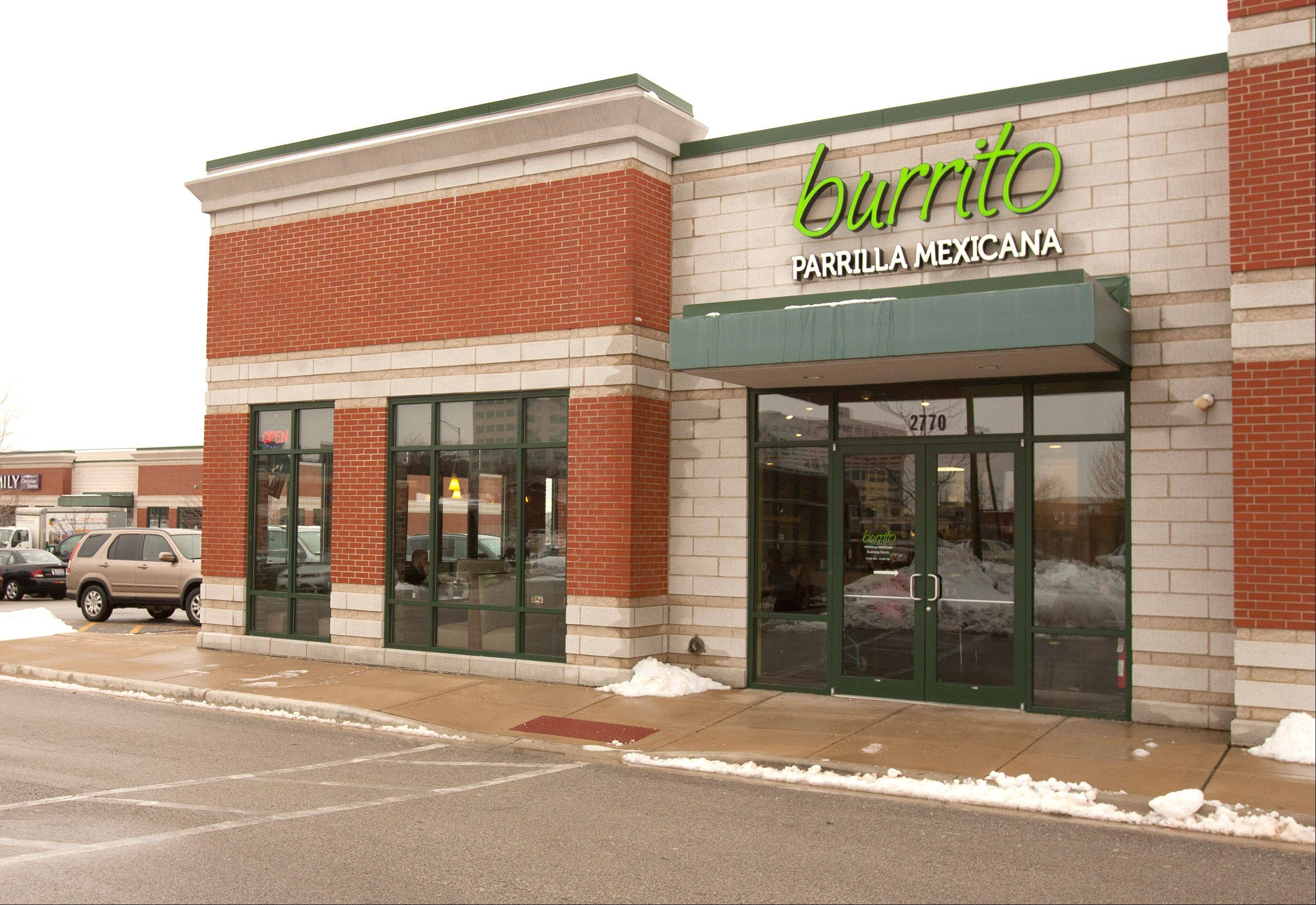 Burrito Parrilla Mexicana sits across from Yorktown Mall at 2770 Highland Ave. in Lombard.