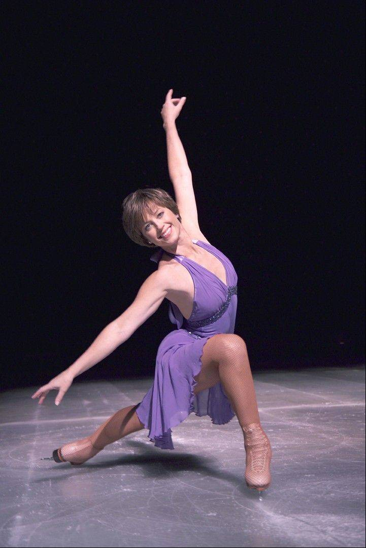 "Gold medal Olympic champion Dorothy Hamill appears in ""Stars on Ice: Now and Then"" at theAllstate Arena."