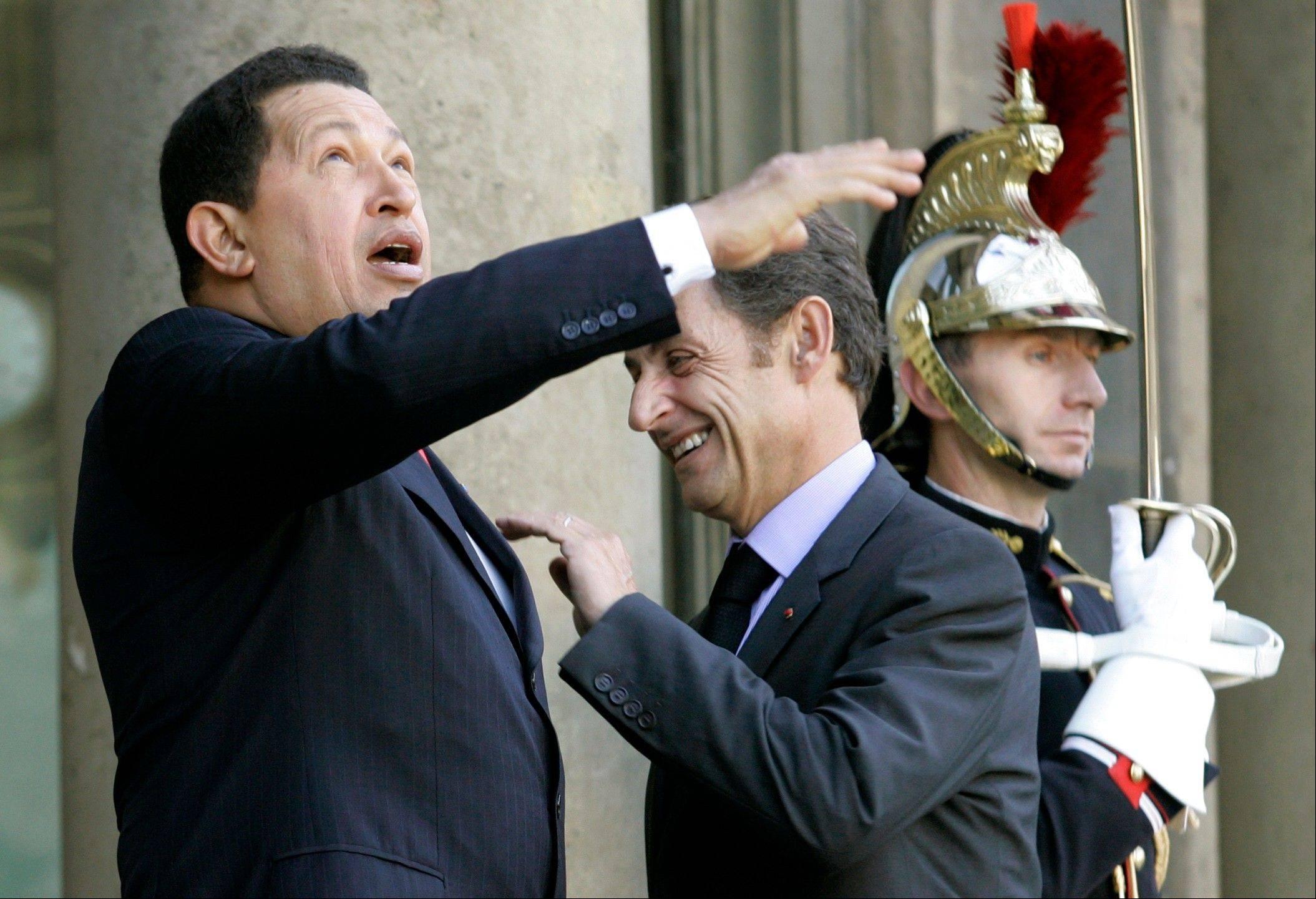 Chavez twittrar fran kuba
