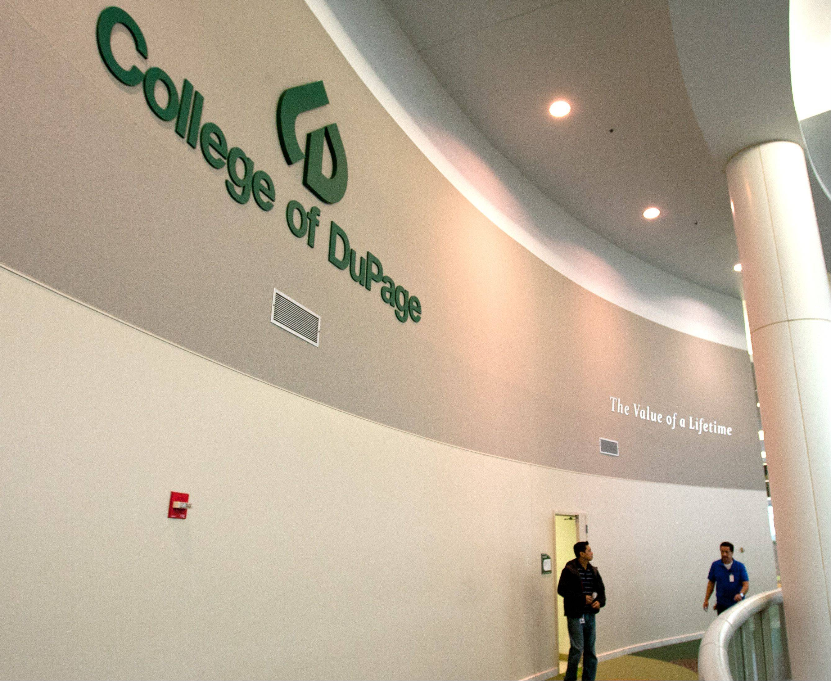 "College of DuPage is spending $290,000 on a consultant to develop a ""brand"" for the college. It's part of an overall effort to increase the college's profile and make it more competitive with other institutions of higher learning."