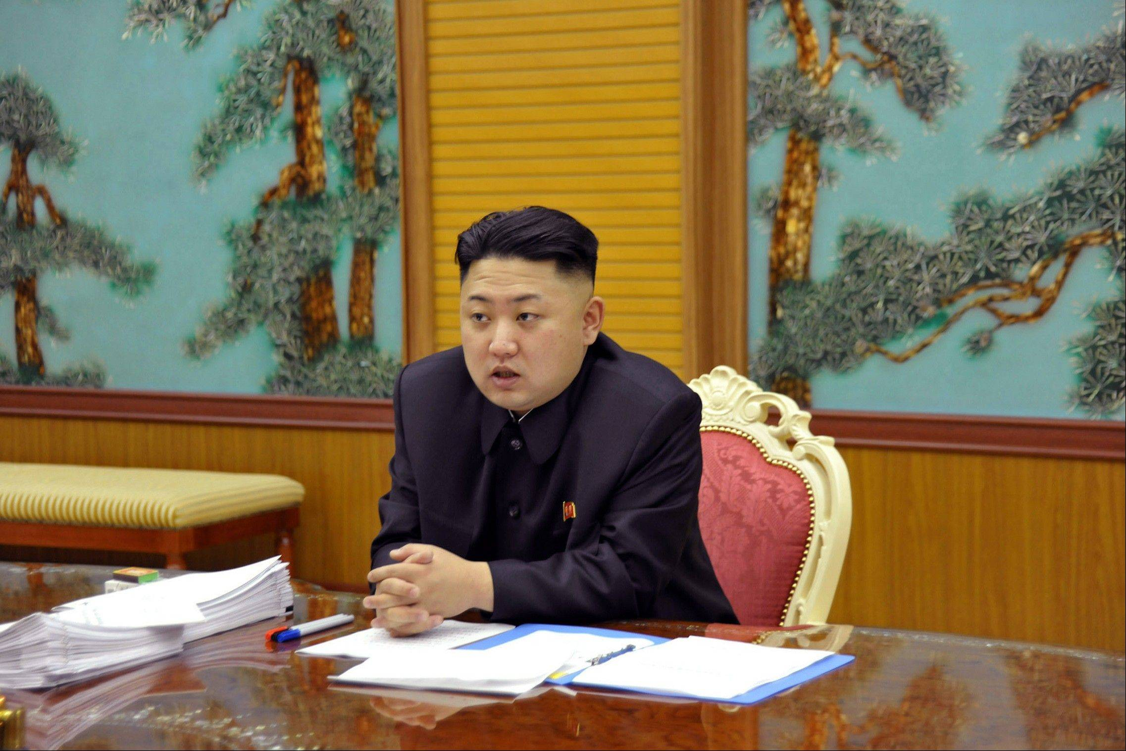 North Korean leader Kim Jong Un. North Korea vowed Tuesday to cancel the 1953 cease-fire that ended the Korean War, citing a U.S.-led push for punishing U.N. sanctions over its recent nuclear test and ongoing U.S.-South Korean joint military drills.