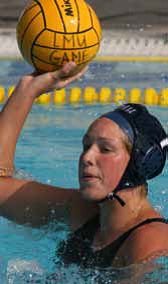 Stacia Peterson - LMU Water Polo Team photo