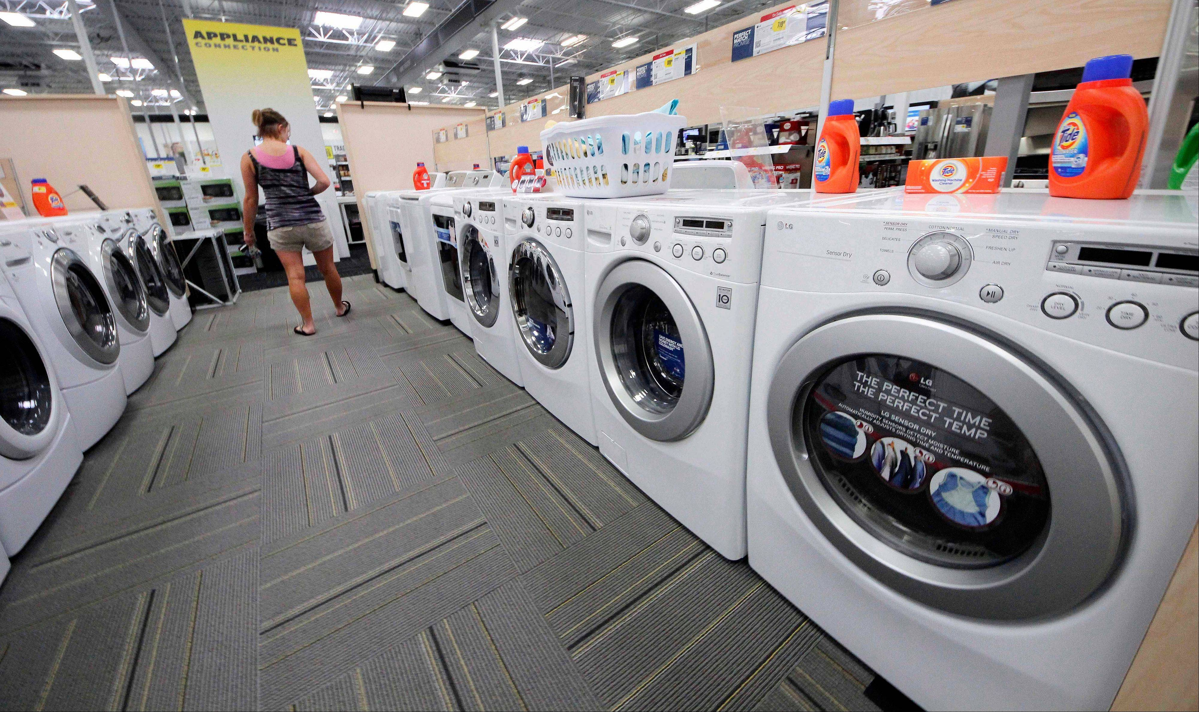 Demand for durable goods, items expected to last at least three years, dropped 4.9 percent.