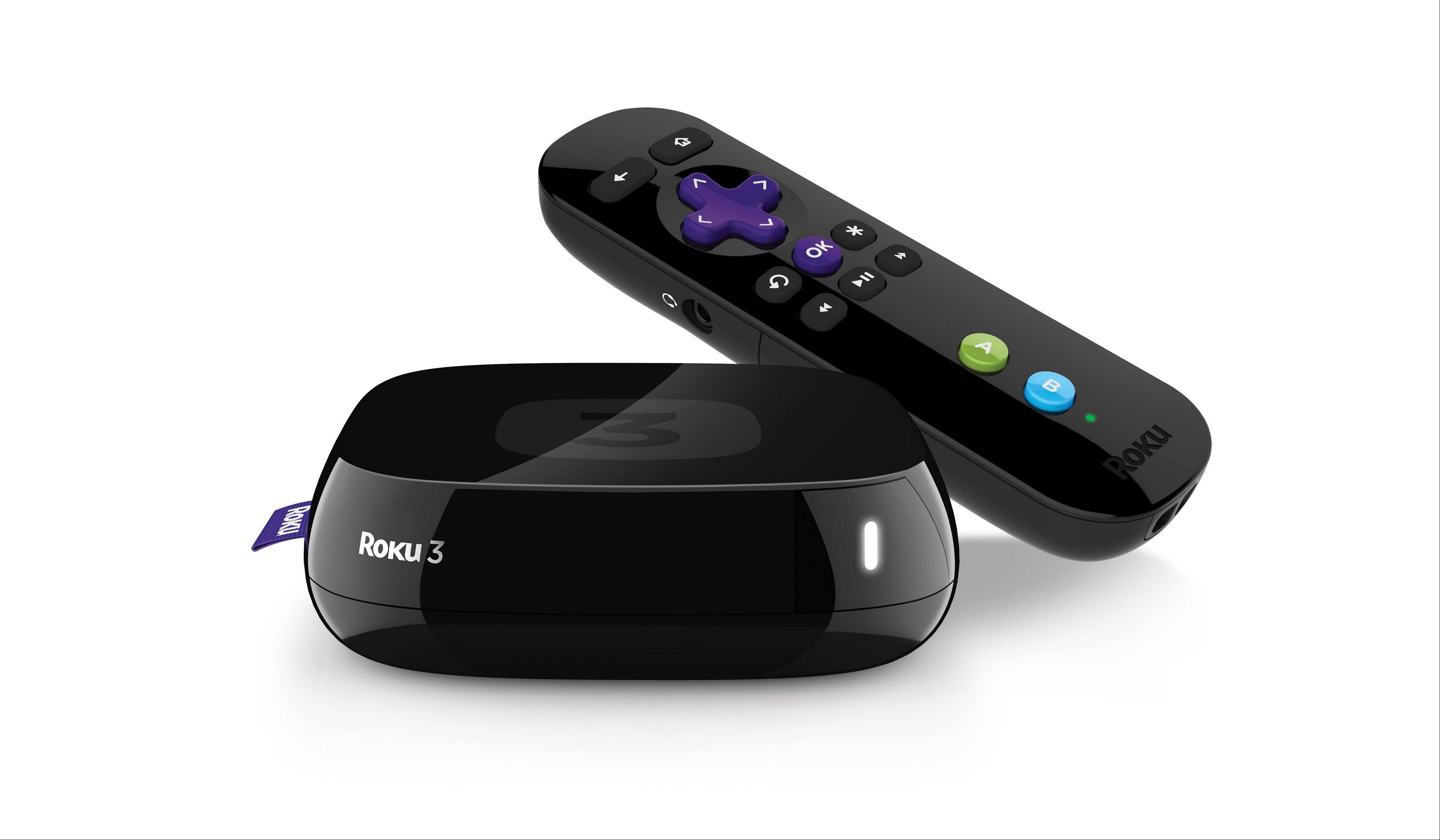 Roky 3. Roku is plugging headphones and several other new features into its latest set-top box for streaming Internet video to TVs, a move that amplifies its effort to upstage Appleís better-selling player.