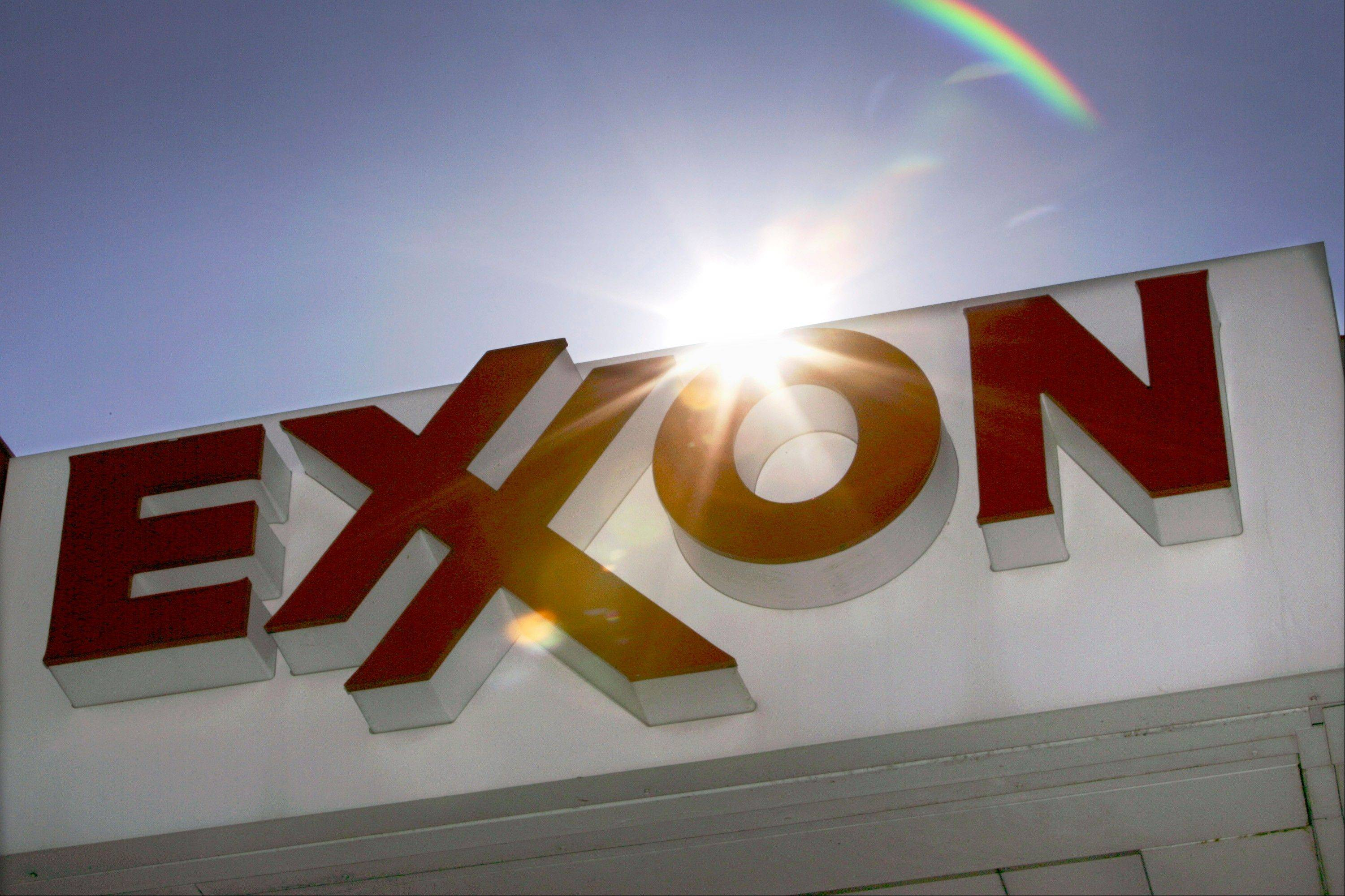Exxon Mobil expects production to decline by about 1 percent this year due to weaker output of natural gas.