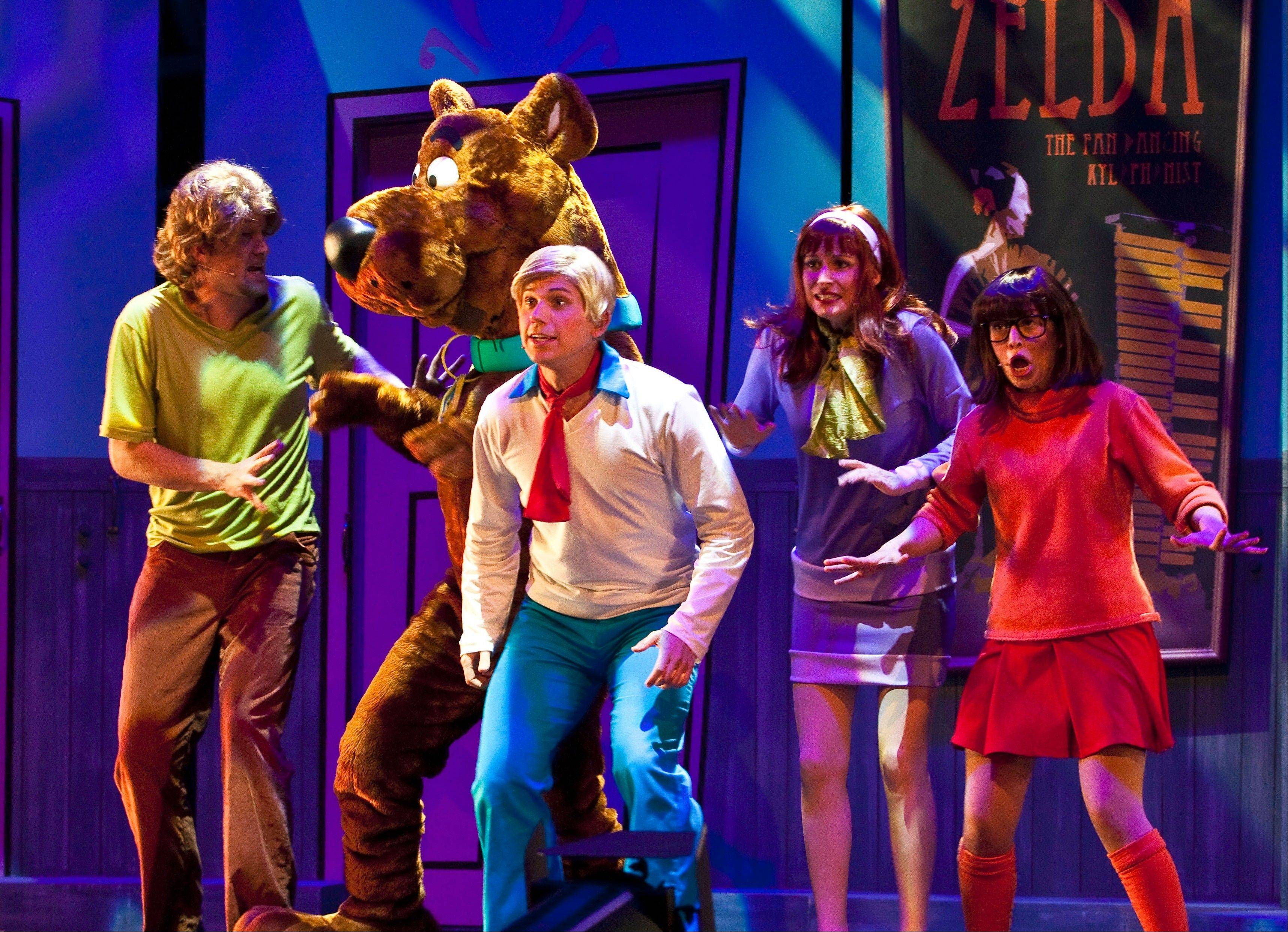 """Scooby-Doo Live! Musical Mysteries"" comes to the Genesee Theatre in Waukegan for two performances on Saturday, March 9."