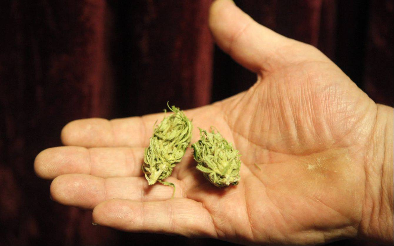 File photo Illinois lawmakers today started advancing a plan to legalize medical marijuana.