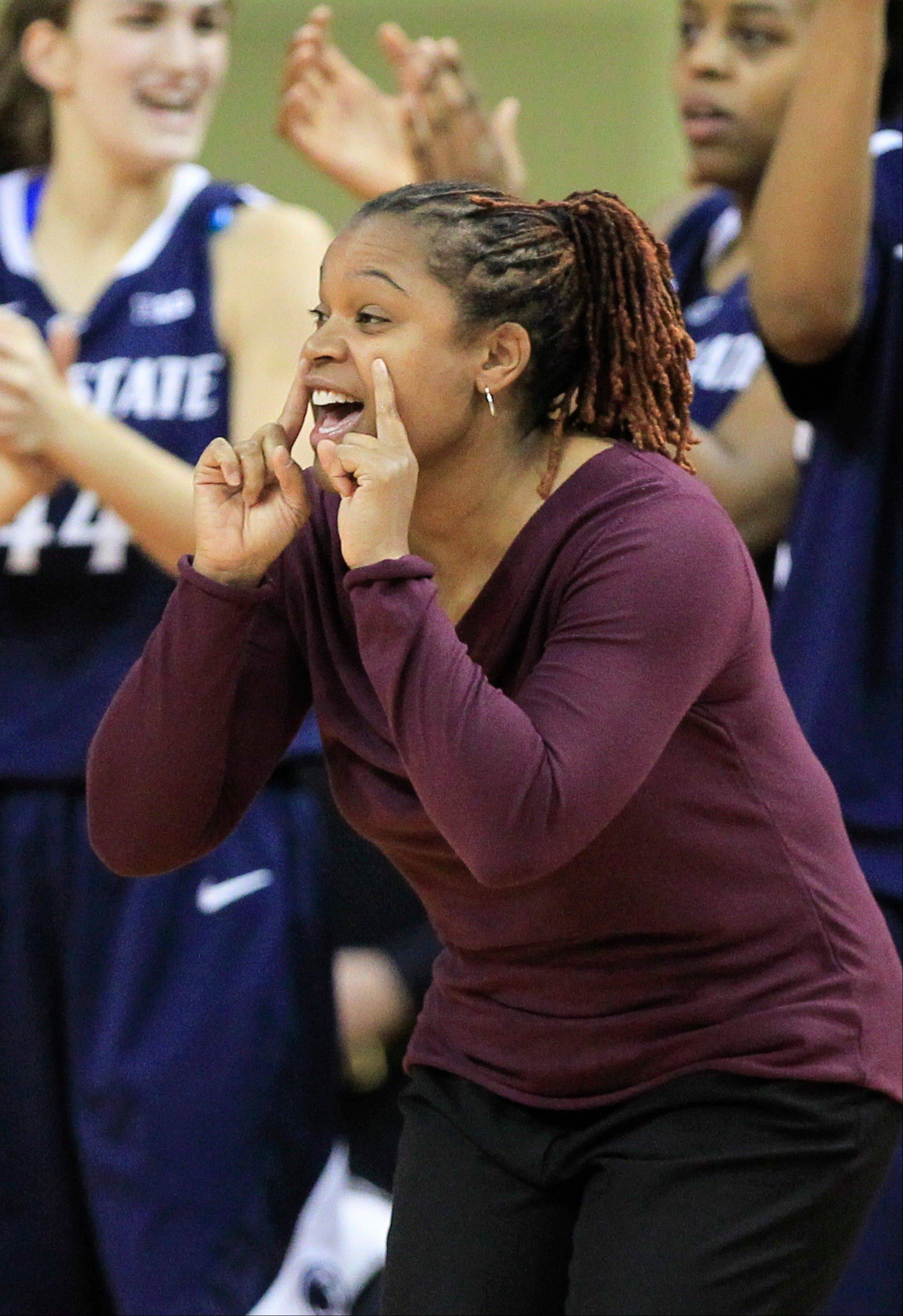Penn State coach Coquese Washington and her top-seeded Lady Lions open Big Ten tournament play Friday at 6 p.m.