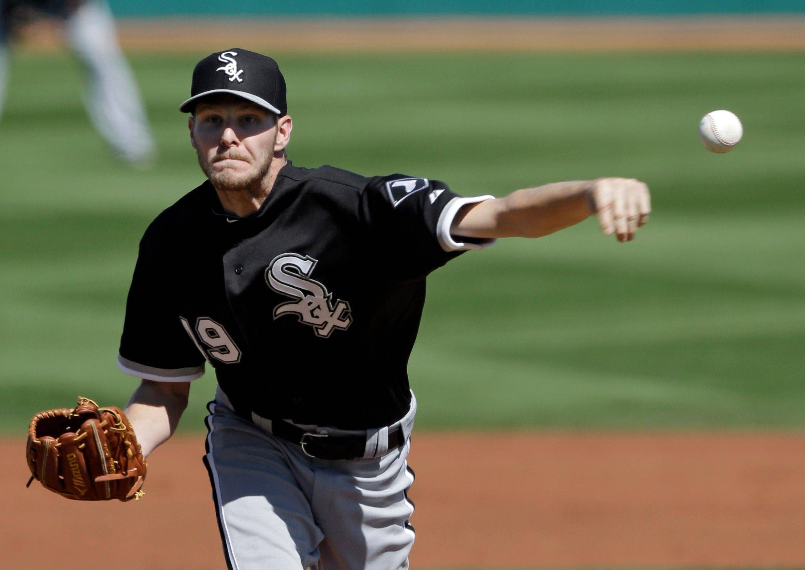 "White Sox starter Chris Sale has ""a great delivery,"" says Don Cooper, his pitching coach."