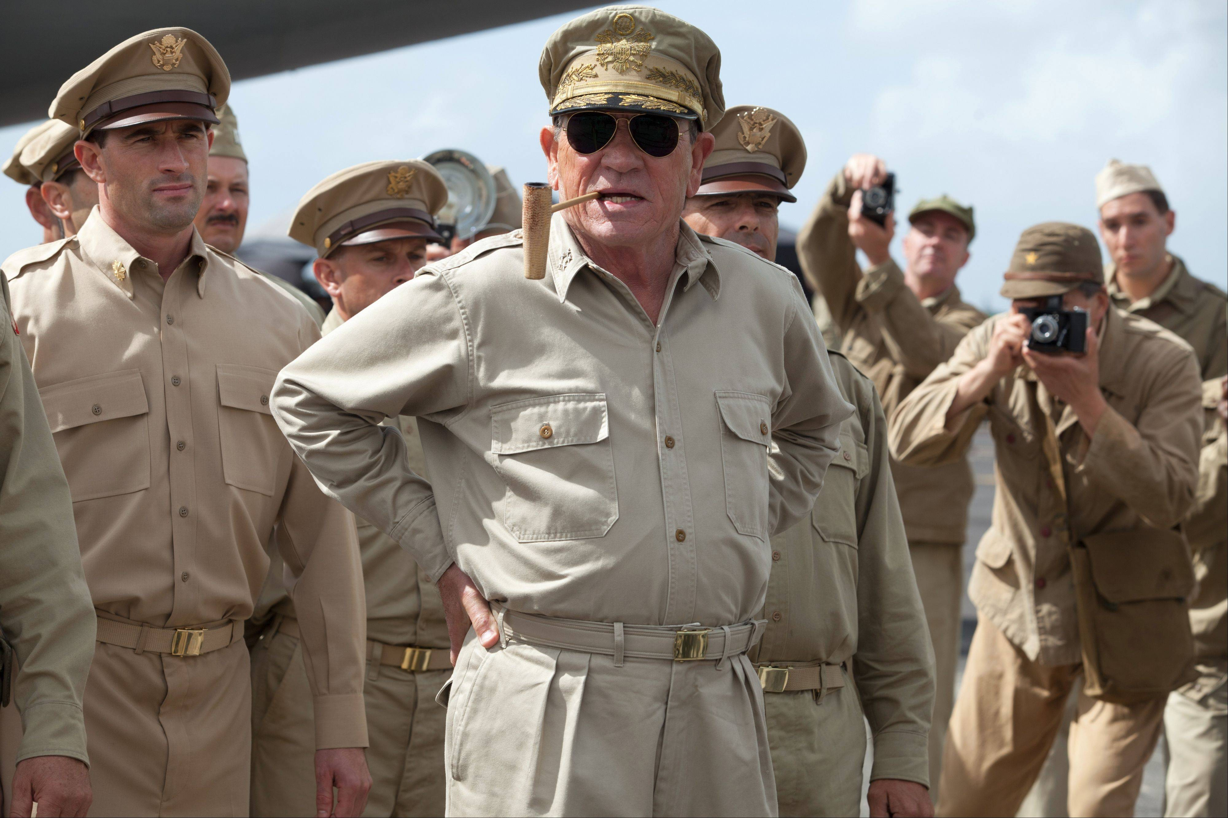 "Recent Oscar nominee Tommy Lee Jones brings little to the role of the flamboyant General Douglas MacArthur in the not-so-fact-based WW II drama ""Emperor."""