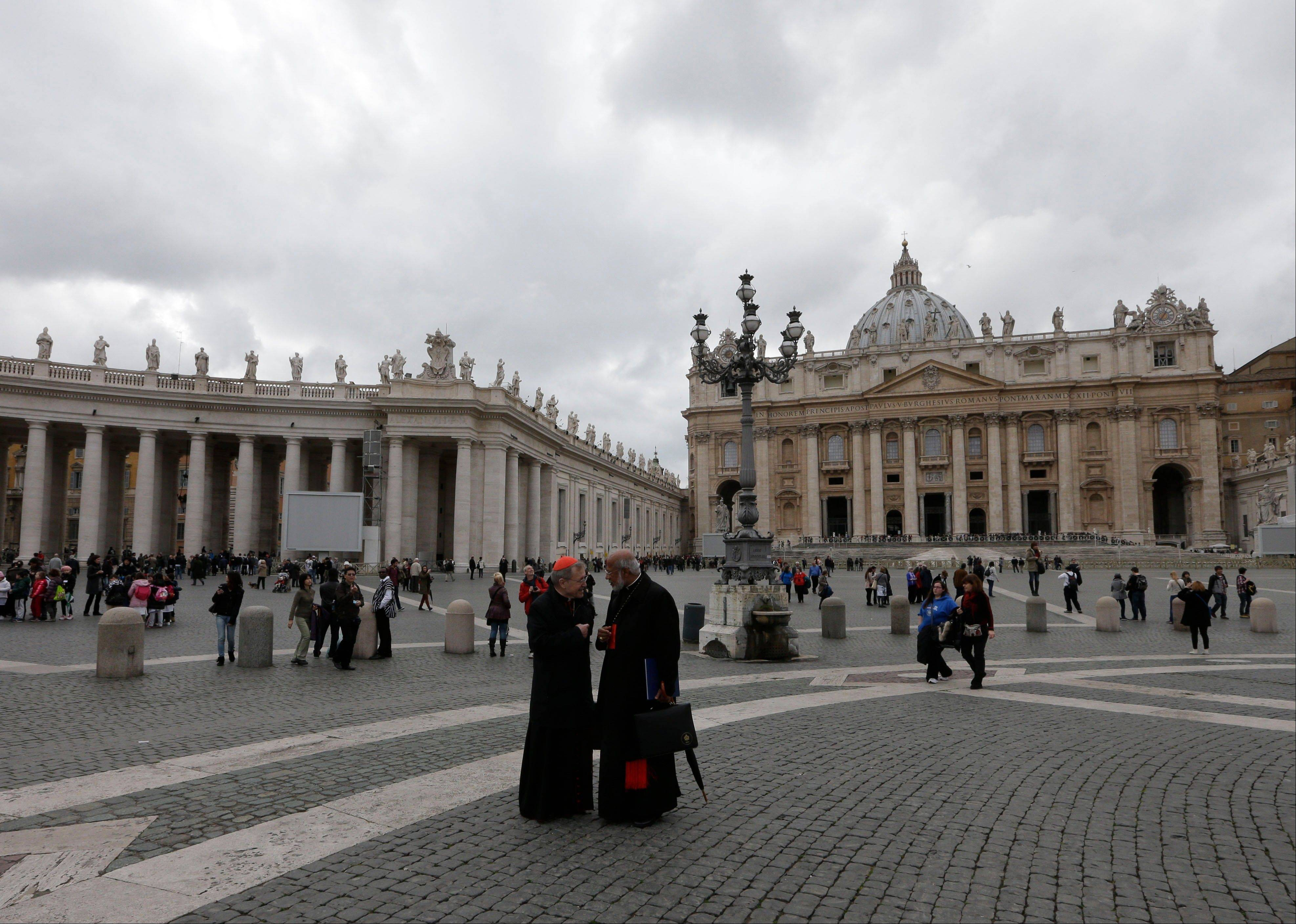 Cardinals get finance brief but no conclave date