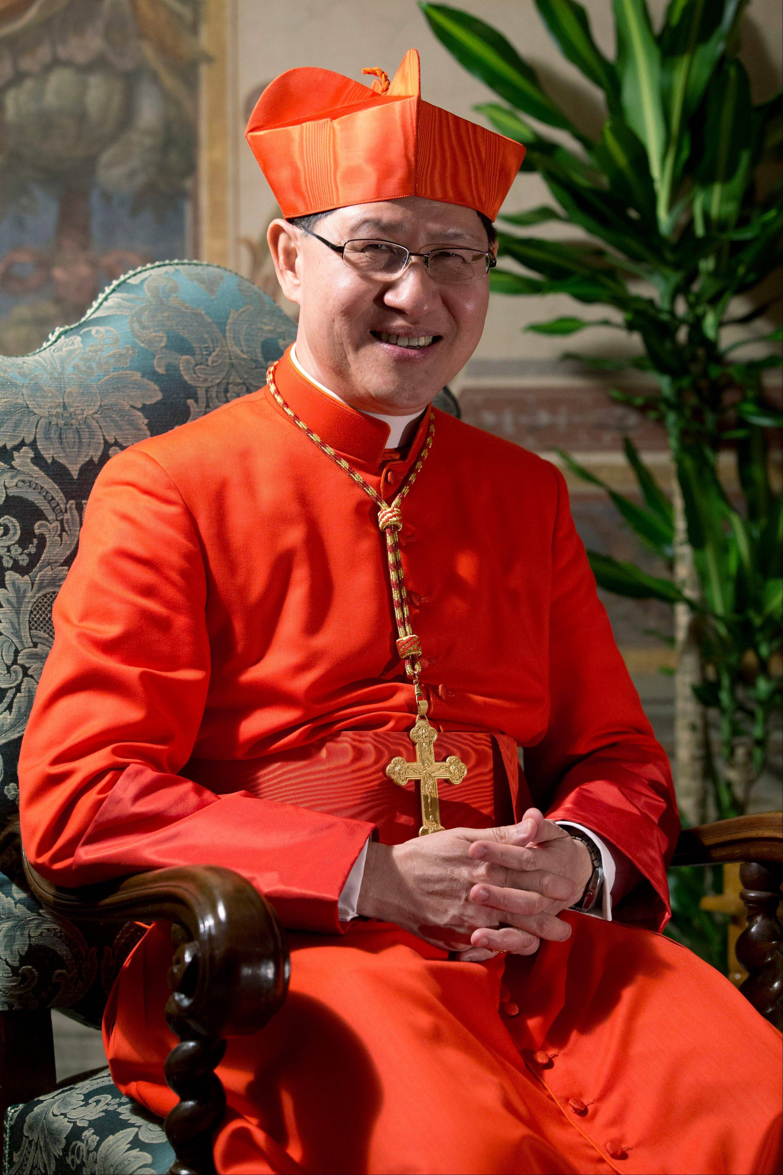 Filipino cardinal stirs papal talk with rapid rise