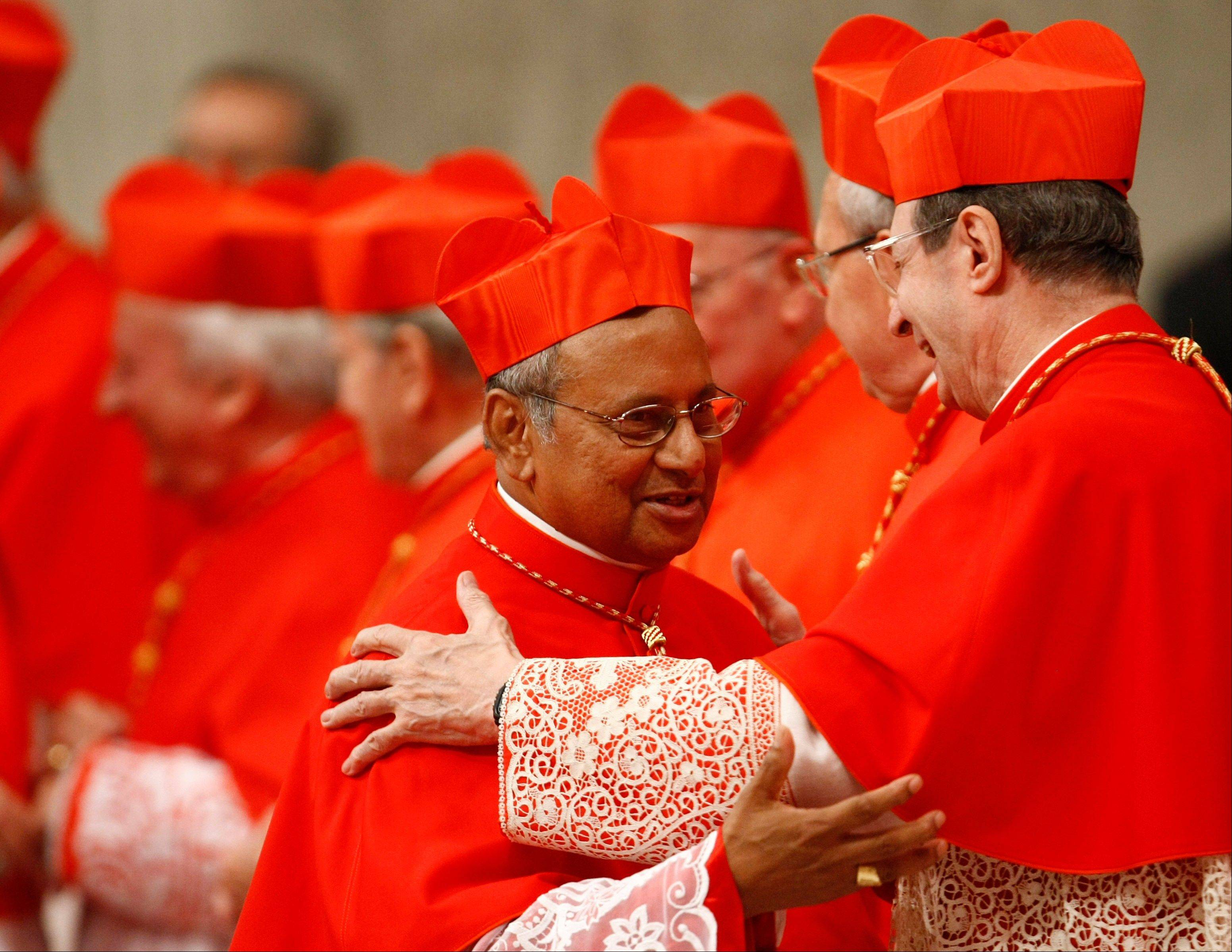 Sri Lanka cardinal hews to tradition in papal race