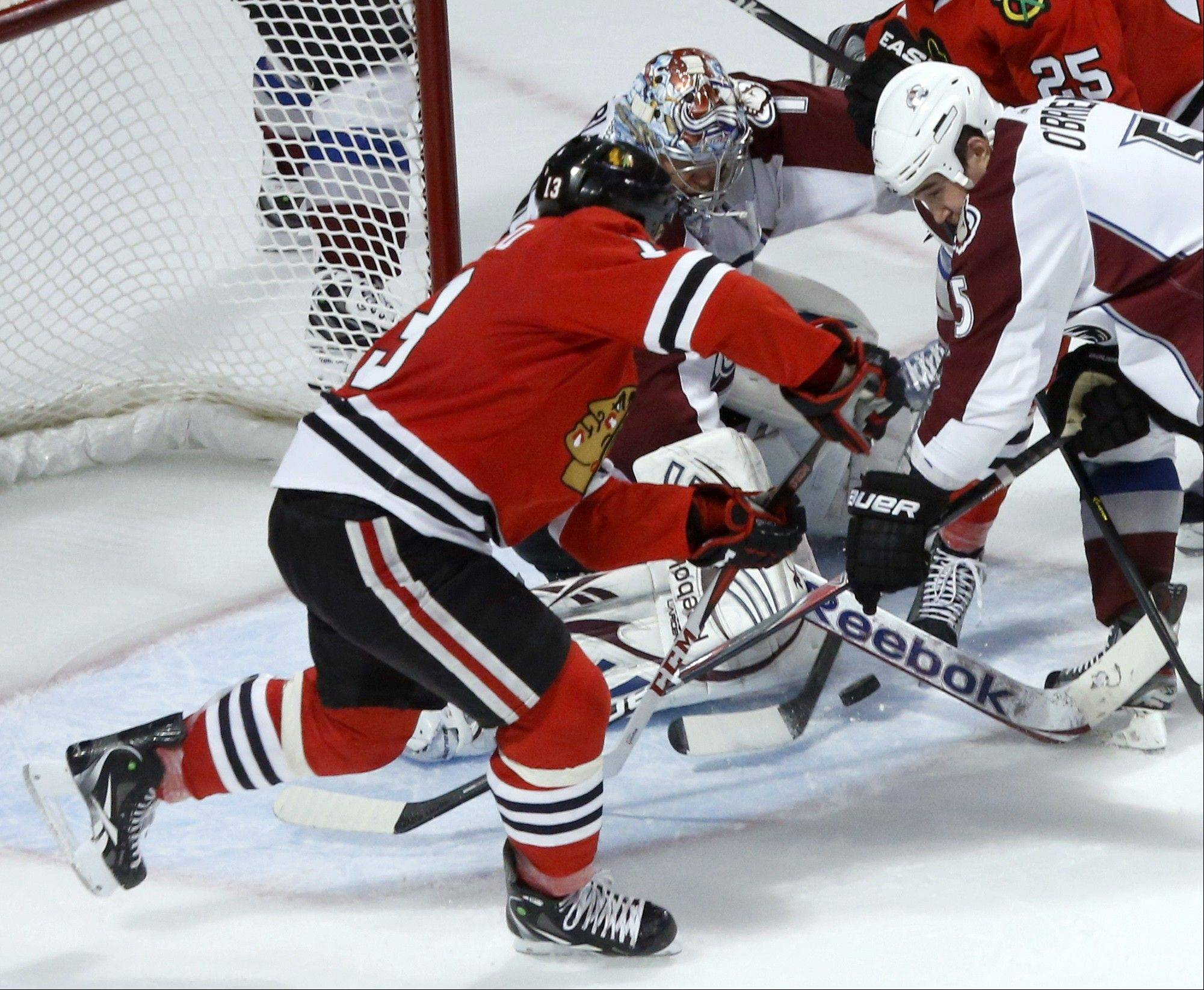 Carcillo's hard work pays off for Hawks