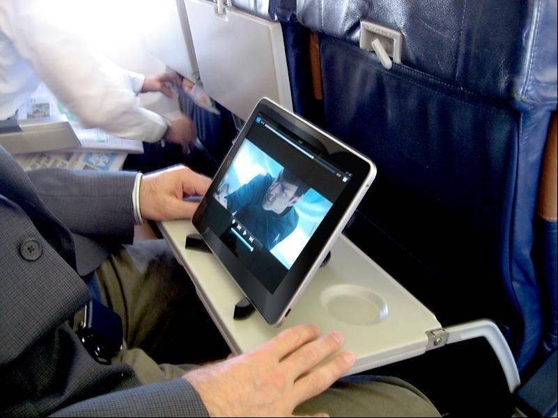 Apple devices in general still reign supreme, with the iPad being the device of choice to connect in air.