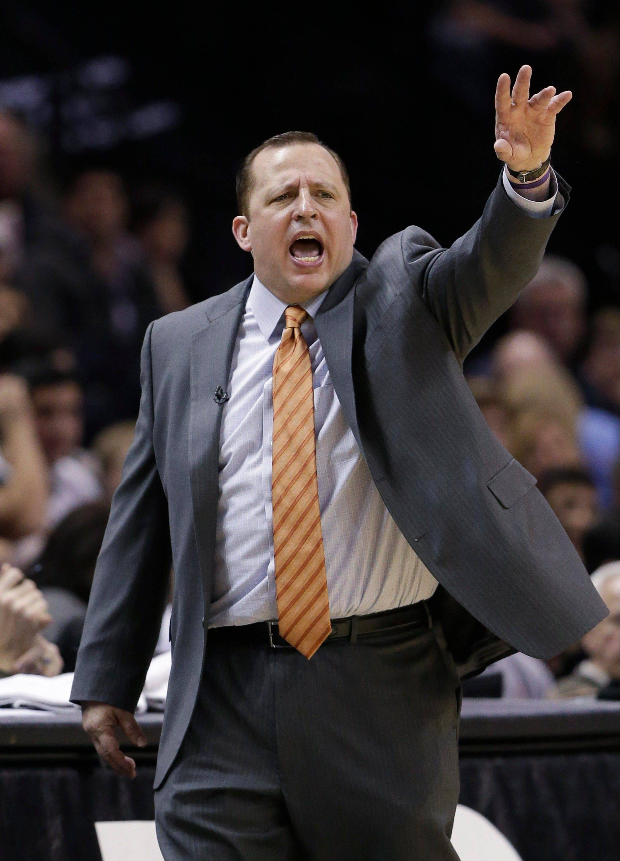 Coach Tom Thibodeau and the Bulls have gone 6-10 since Feb. 1.