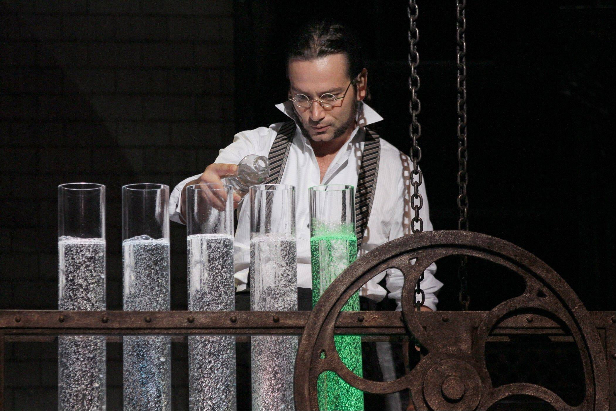 "Constantine Maroulis stars as the scientist Dr. Jekyll in the Broadway-bound national tour of the 1997 musical ""Jekyll & Hyde,"" which plays the Cadillac Palace Theatre in Chicago from Tuesday, March 12, through Sunday, March 24."