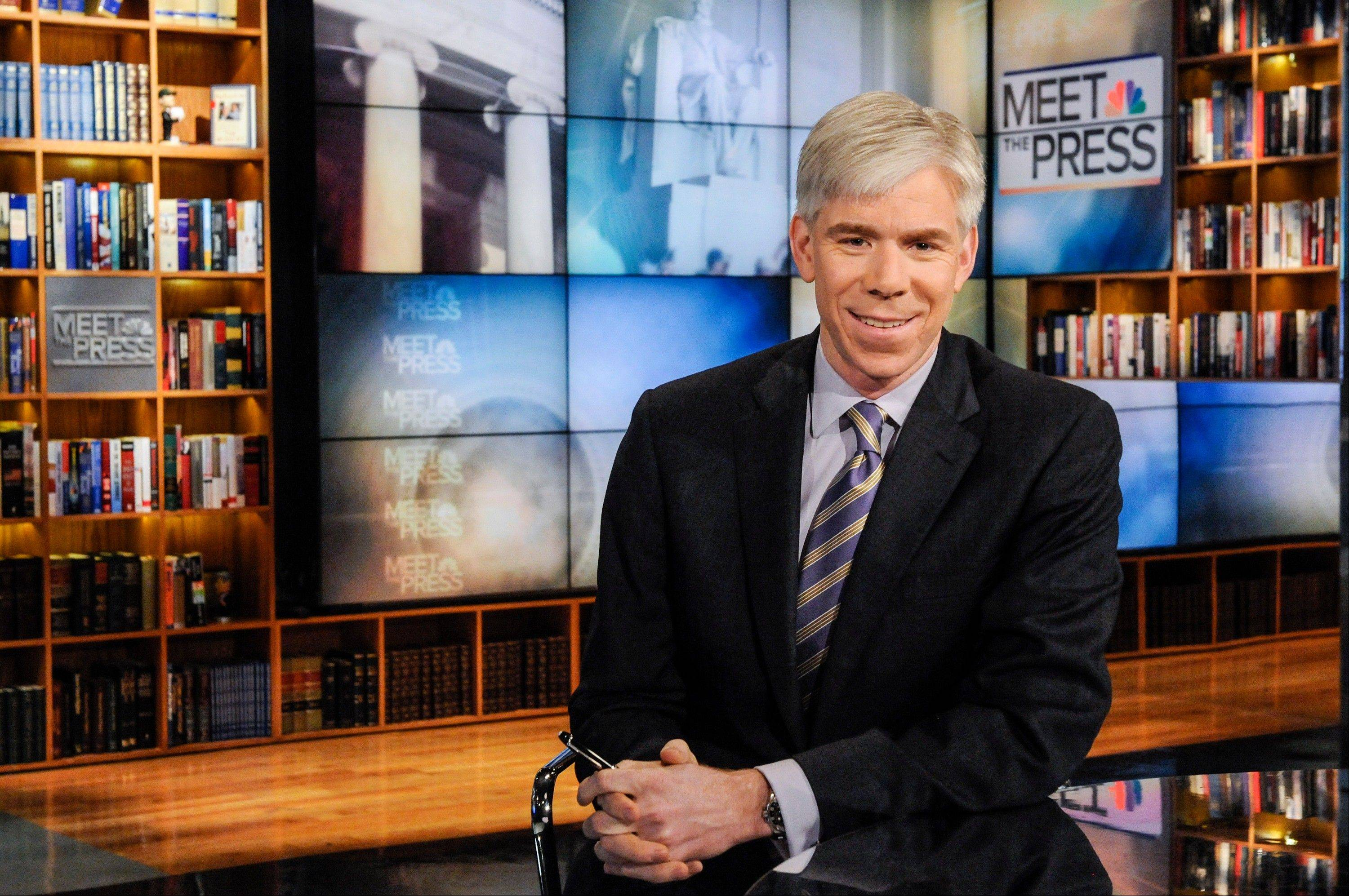 "David Gregory is the moderator of NBC's ""Meet the Press."""