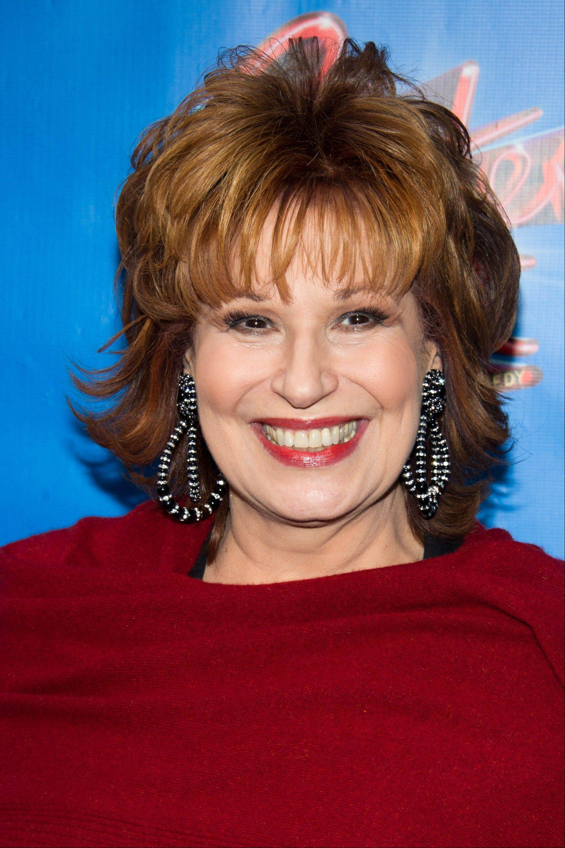 "Joy Behar is leaving the ABC daytime talk show ""The View"" at the end of the current season in August 2013."