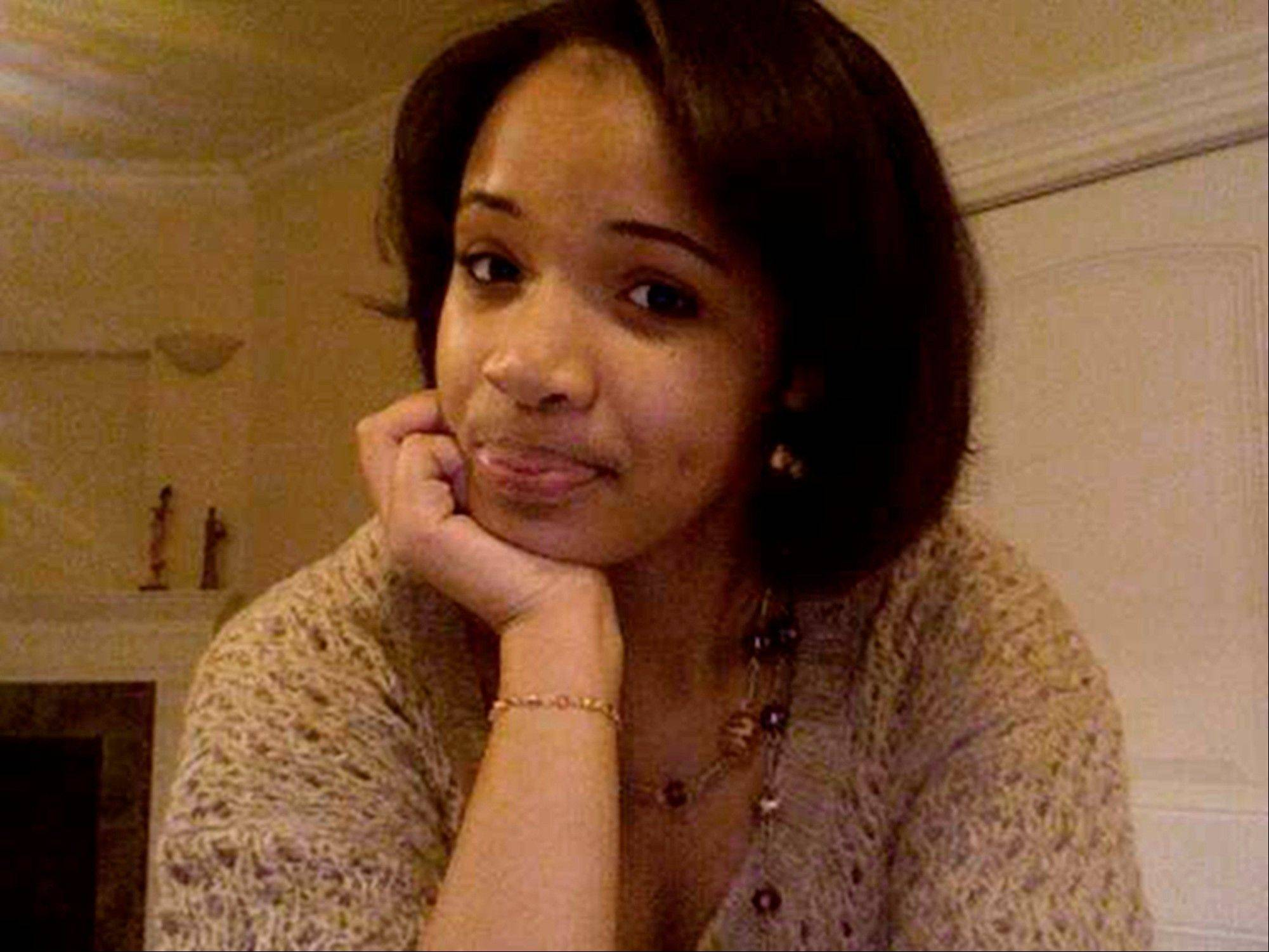 Hadiya Pendleton, 15, of Chicago who was shot Jan. 29 in a park near her home.