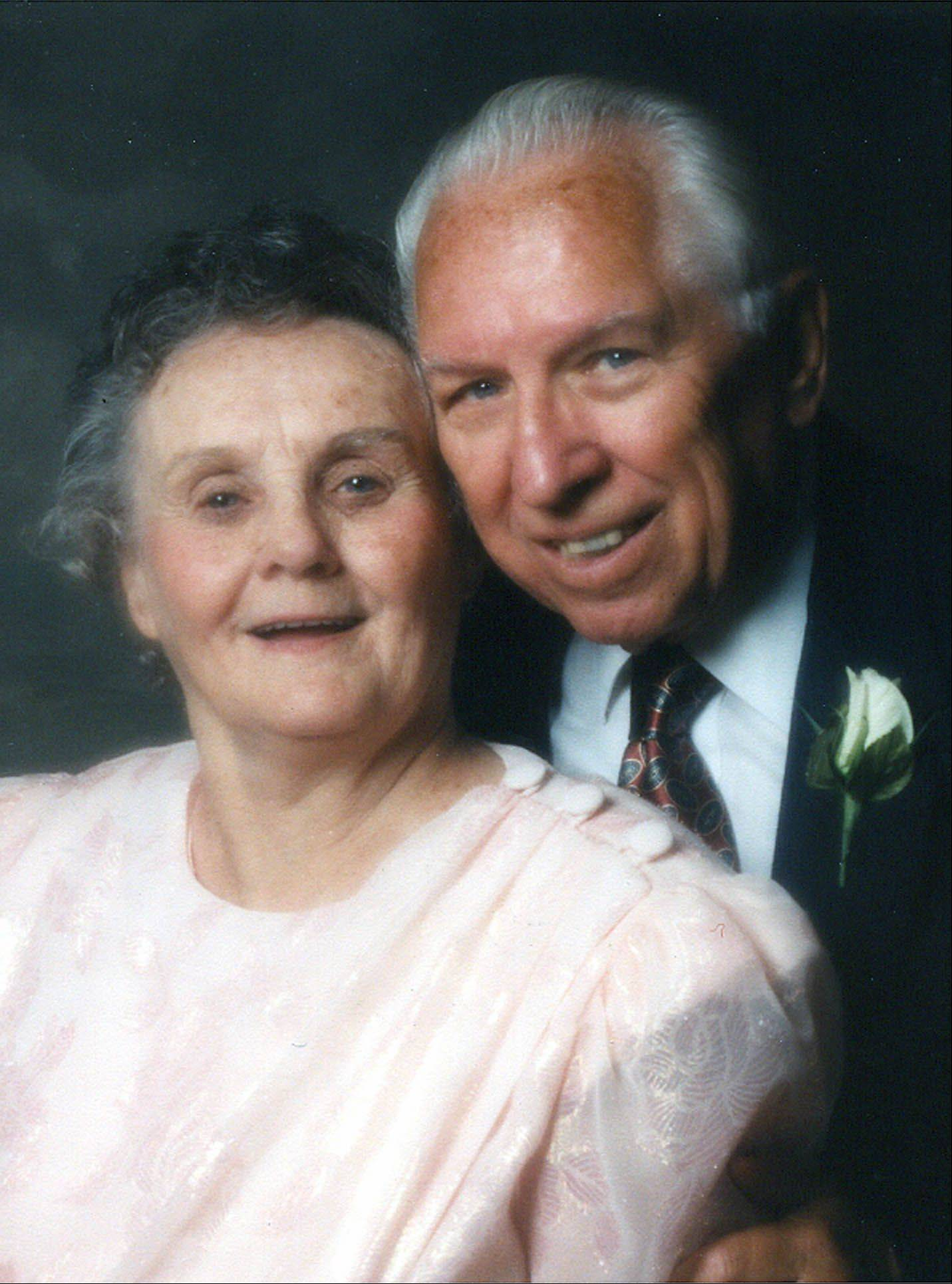 "Funeral arrangements have been set for former Naperville Mayor Chester ""Chet"" Rybicki, seen here with his late wife Lillian ""Mickey"" Rybicki."