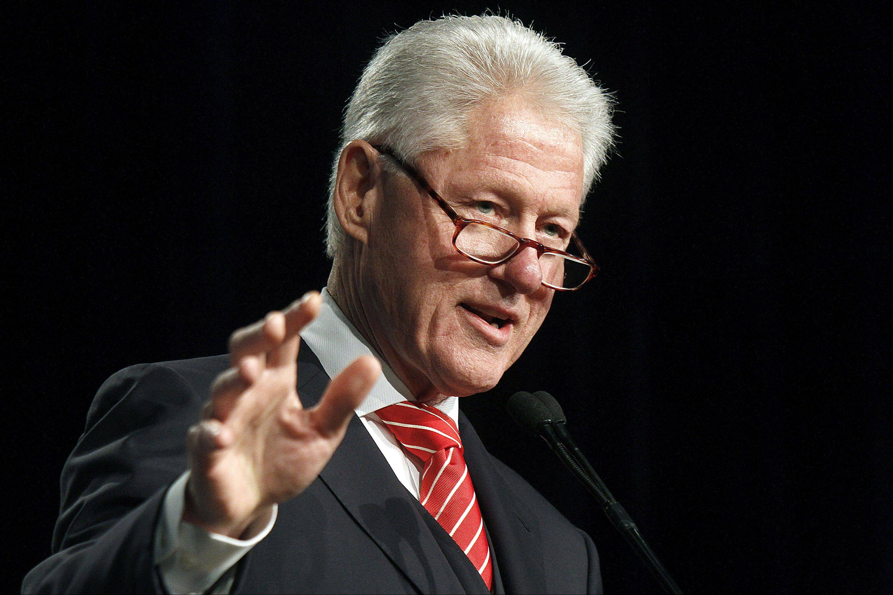 "Former President Bill Clinton says the U.S. Supreme Court should strike down a law he signed 17 years ago that bans same-sex marriage, calling the measure ""incompatible"" with the Constitution."