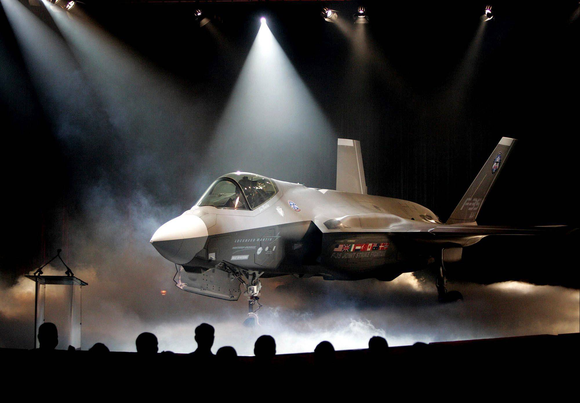 Associated Press/July 7, 2006 The Lockheed Martin F-35 Joint Strike Fighter