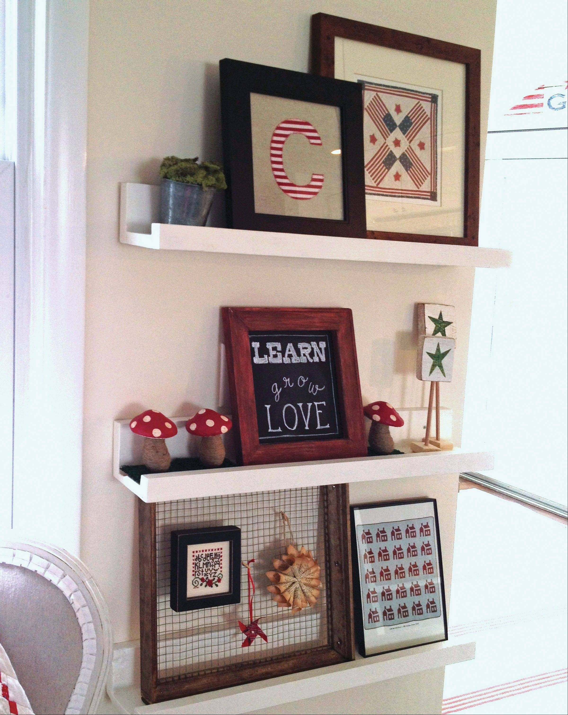 If you're new to woodworking, start on smaller projects, like a set of shelves or picture frames.