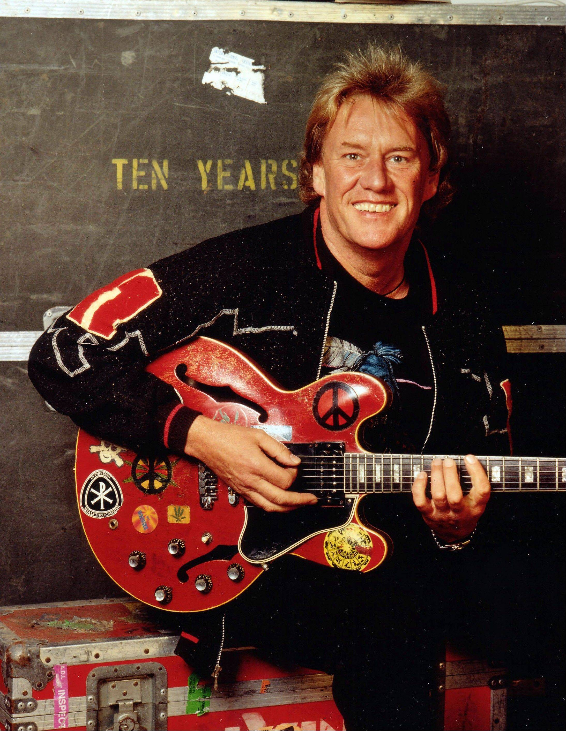 British rock guitarist Alvin Lee