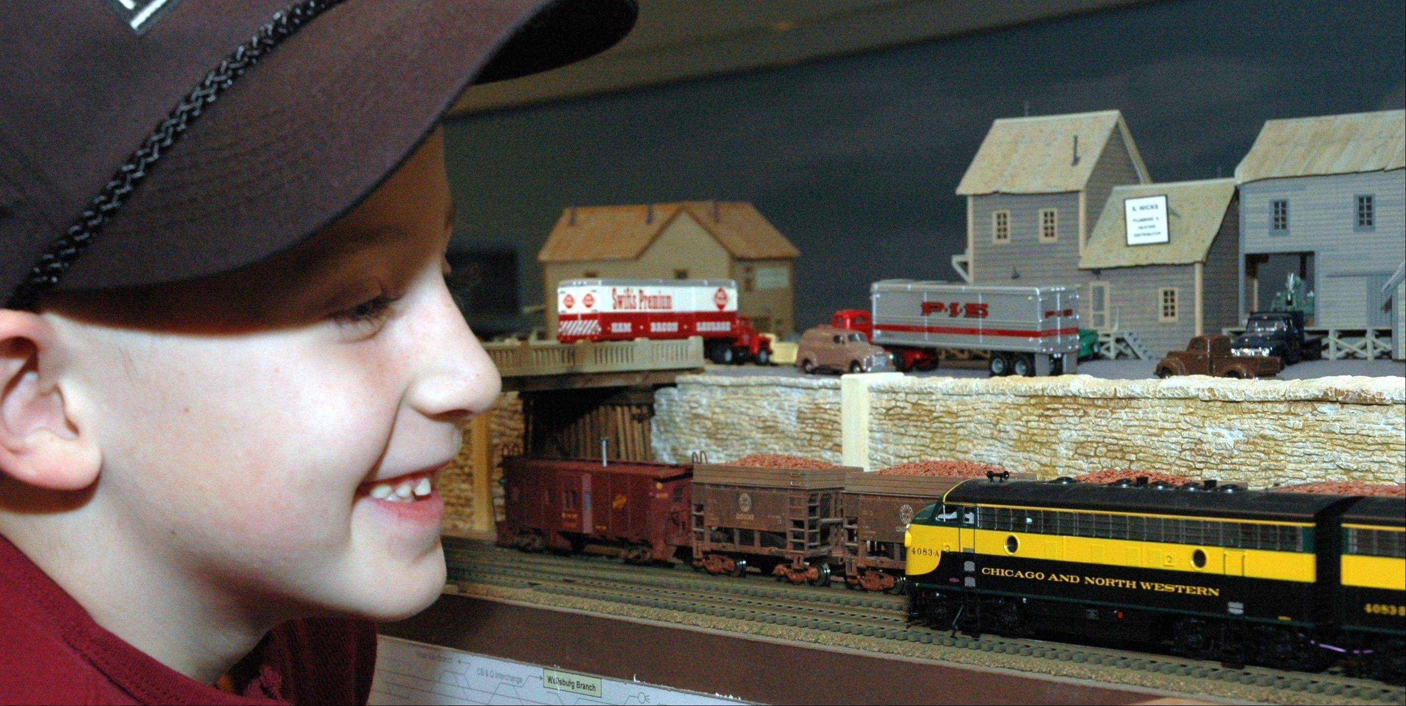 "The High Wheeler Model Train Show pulls into the Harper College Sports Center, Building ""M,"" in Palatine on Saturday and Sunday, March 9-10."