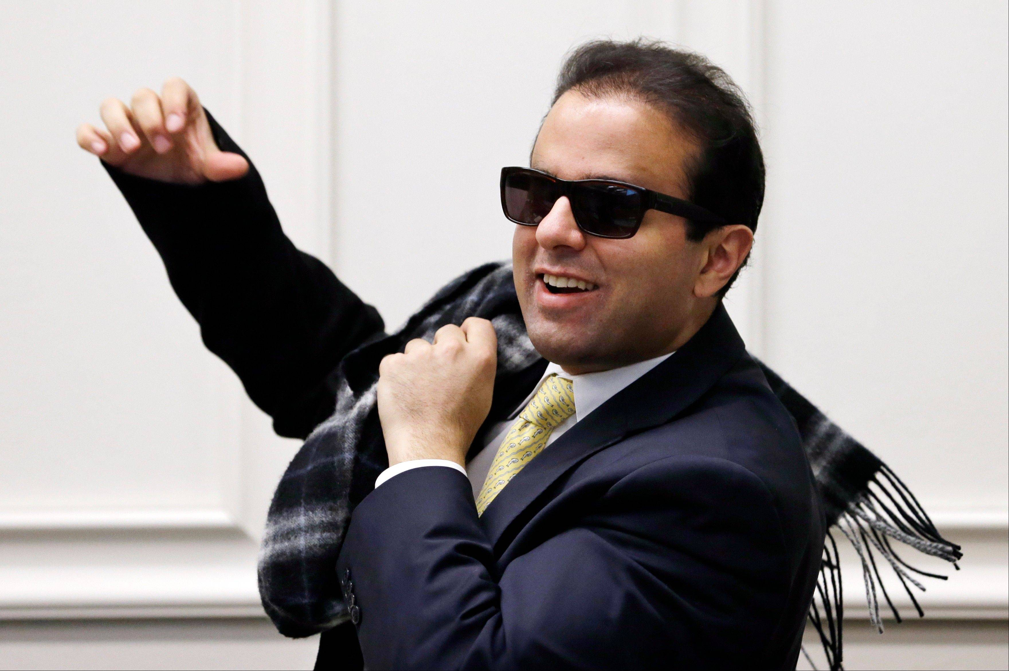 Washington Rep. Cyrus Habib is his state's first blind lawmaker in decades, and his life story is in many ways reflected in the policies he's now championing. The care he received as a child is something he co