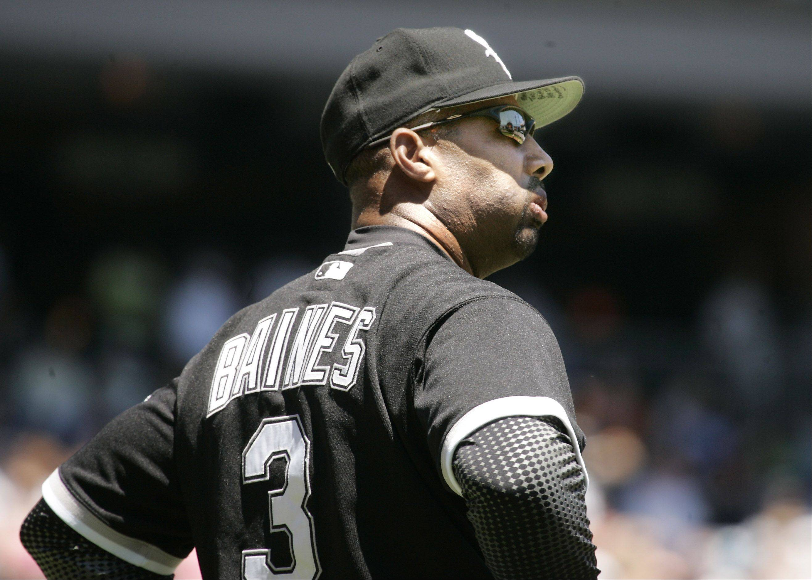 As the assistant hitting coach, Harold Baines will take a more hands-on approach with White Sox hitters in 2013.