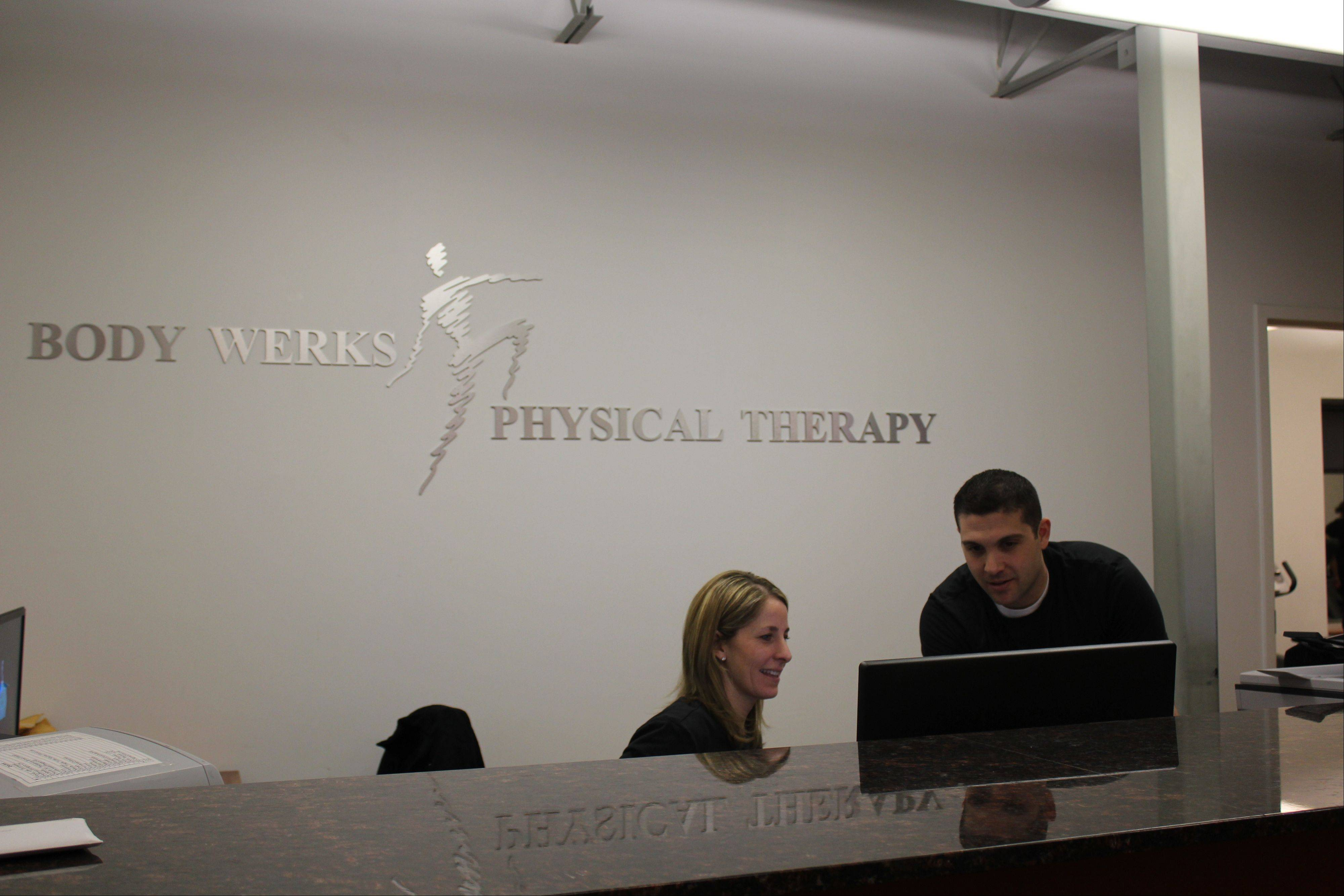 Body Werks Physical Therapy working out in Arlington Heights