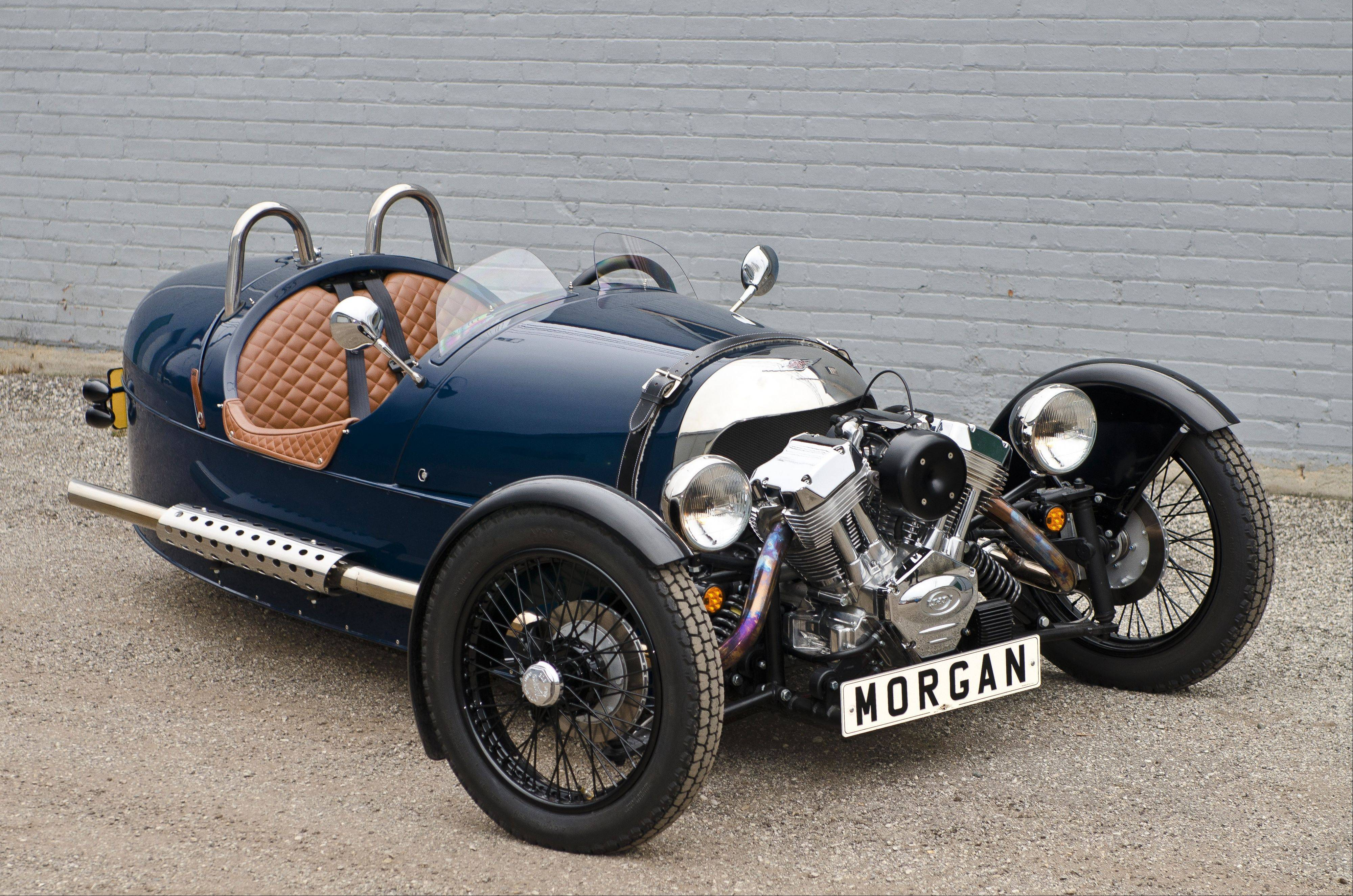 2013 Morgan 3 Wheeler, Norb Bries, Northshore Sportscars, Lake Bluff