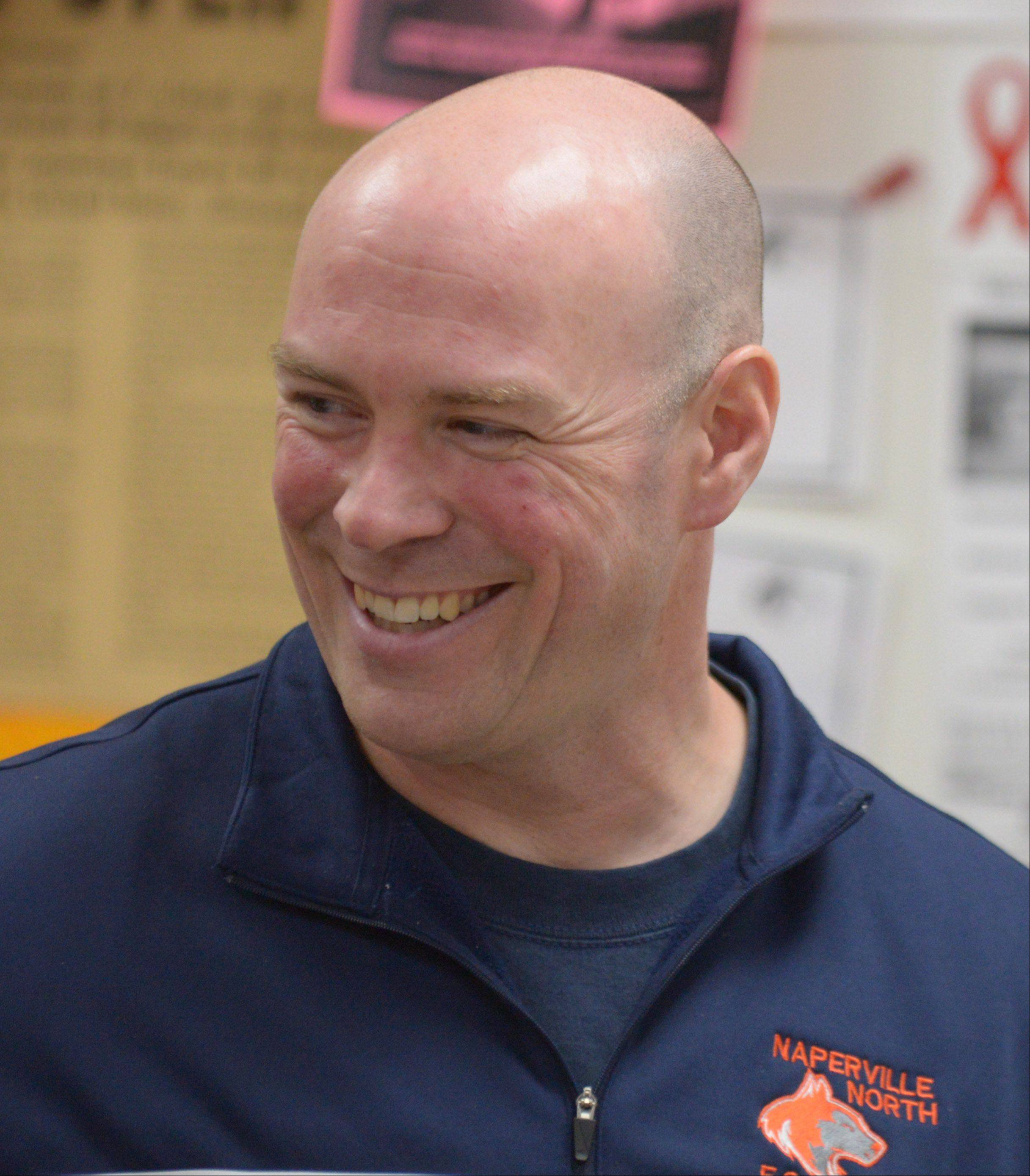 Michael Jelinek has a hand in a number of projects and activities at Naperville North, but tends to work behind the scenes and without fanfare.