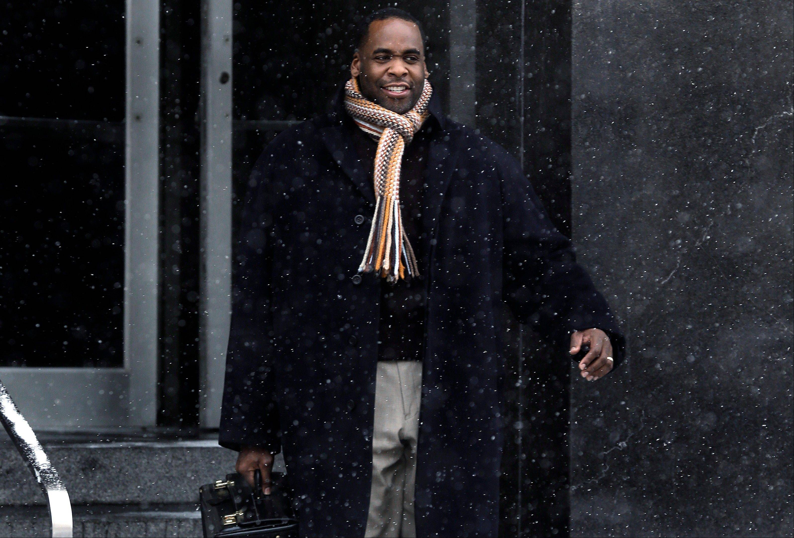 Former Detroit Mayor Kwame Kilpatrick was convicted Monday of corruption charges.