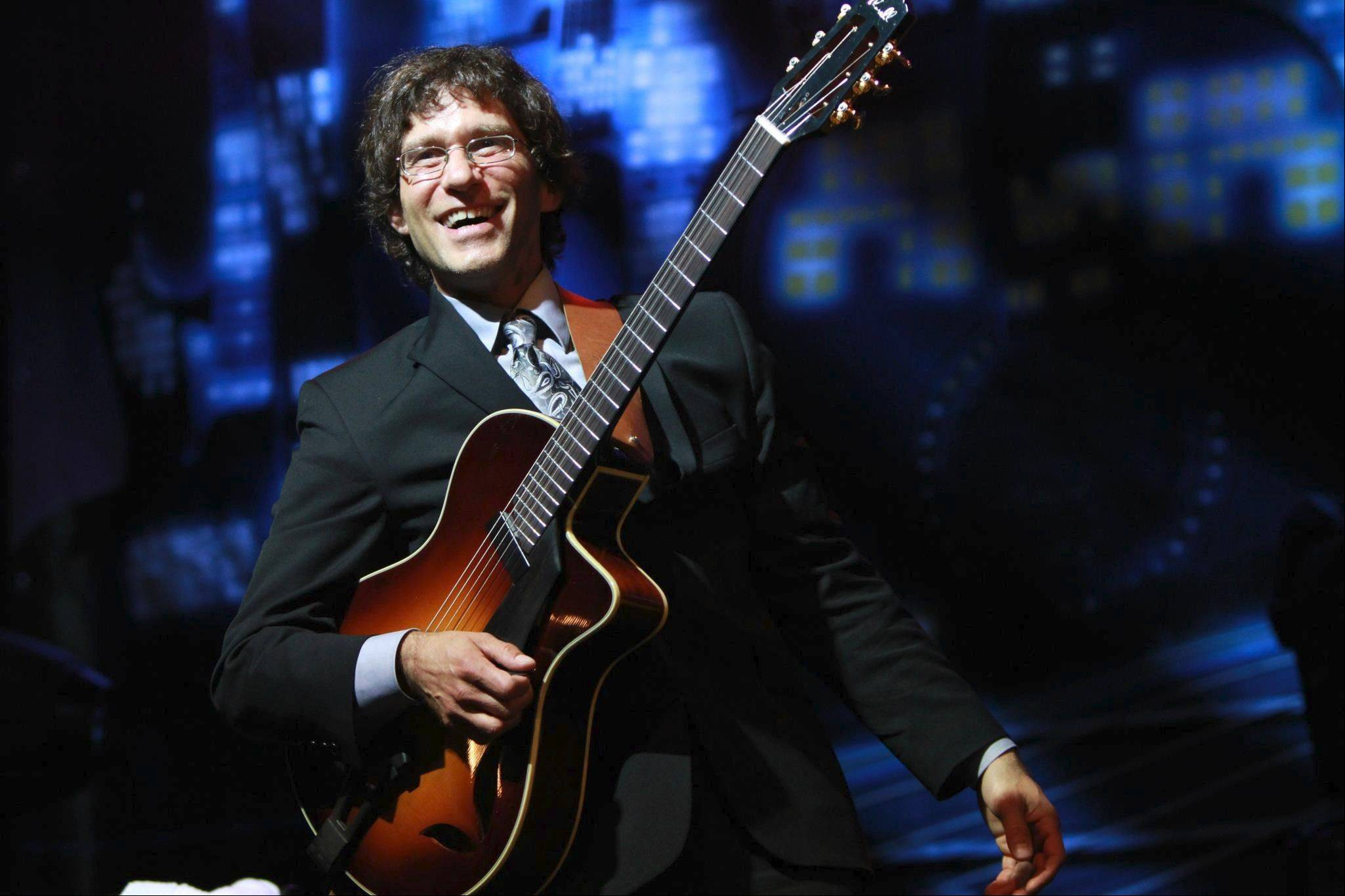 Jazz guitarist Frank Vignola will perform Friday, March 15, and Saturday, March 16, at Elgin Community College.