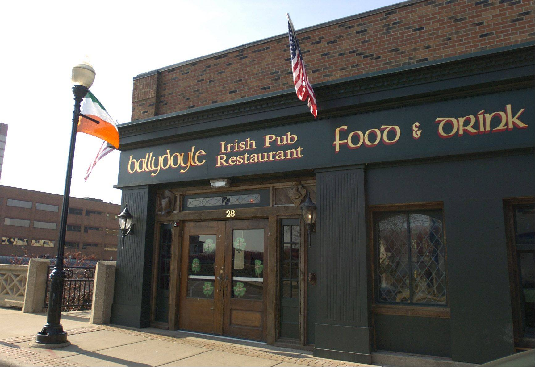 Ballydoyle Irish Pub in Aurora can sell alcohol on St. Patrick�s Day from 11 a.m. Sunday to 2 a.m. Monday � one hour earlier and one hour later than usual � under a resolution the city council approved Tuesday.